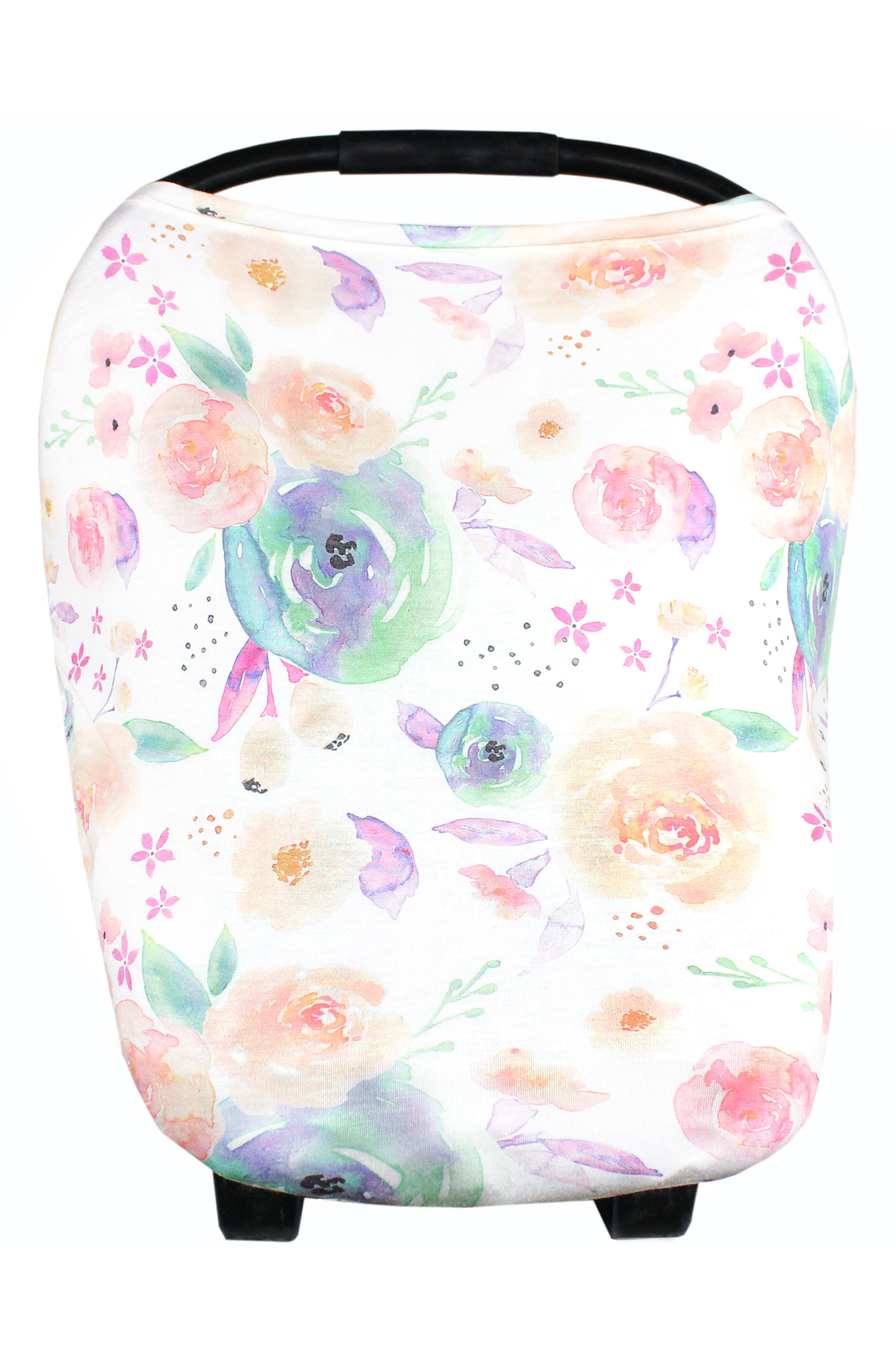 Bloom Multiuse Cover & Swaddle Blanket Gift Set,                             Alternate thumbnail 19, color,                             Bloom