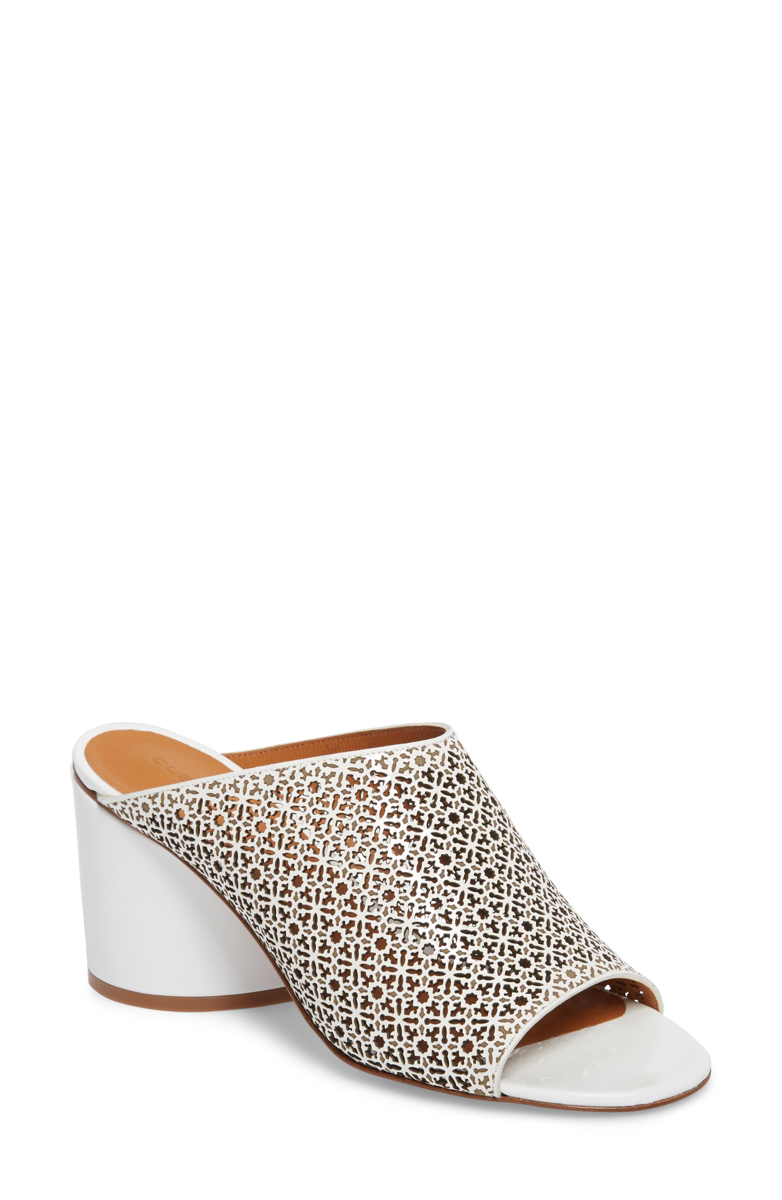 Robert Clergerie Cara Perforated Sandal (Women)