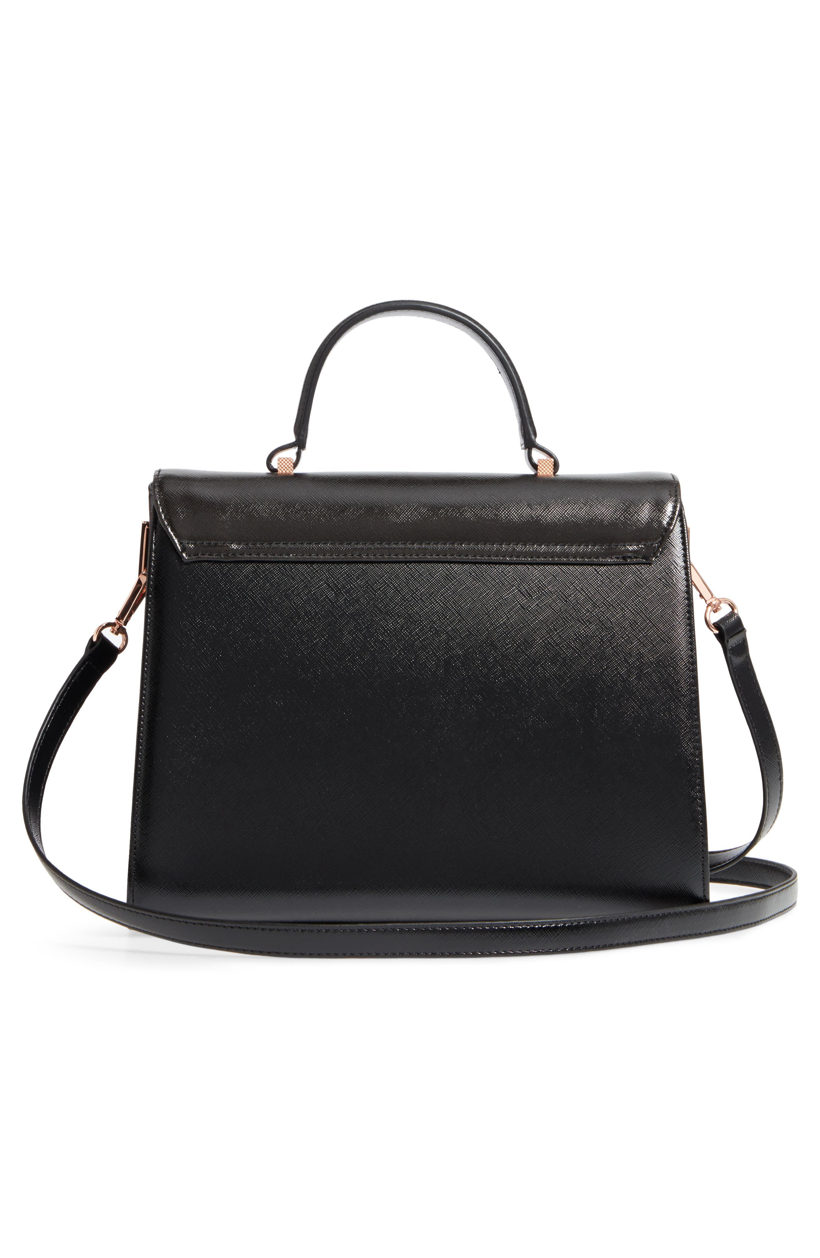 Alternate Image 3  - Ted Baker London Buzzy Queen Bee Faux Leather Satchel