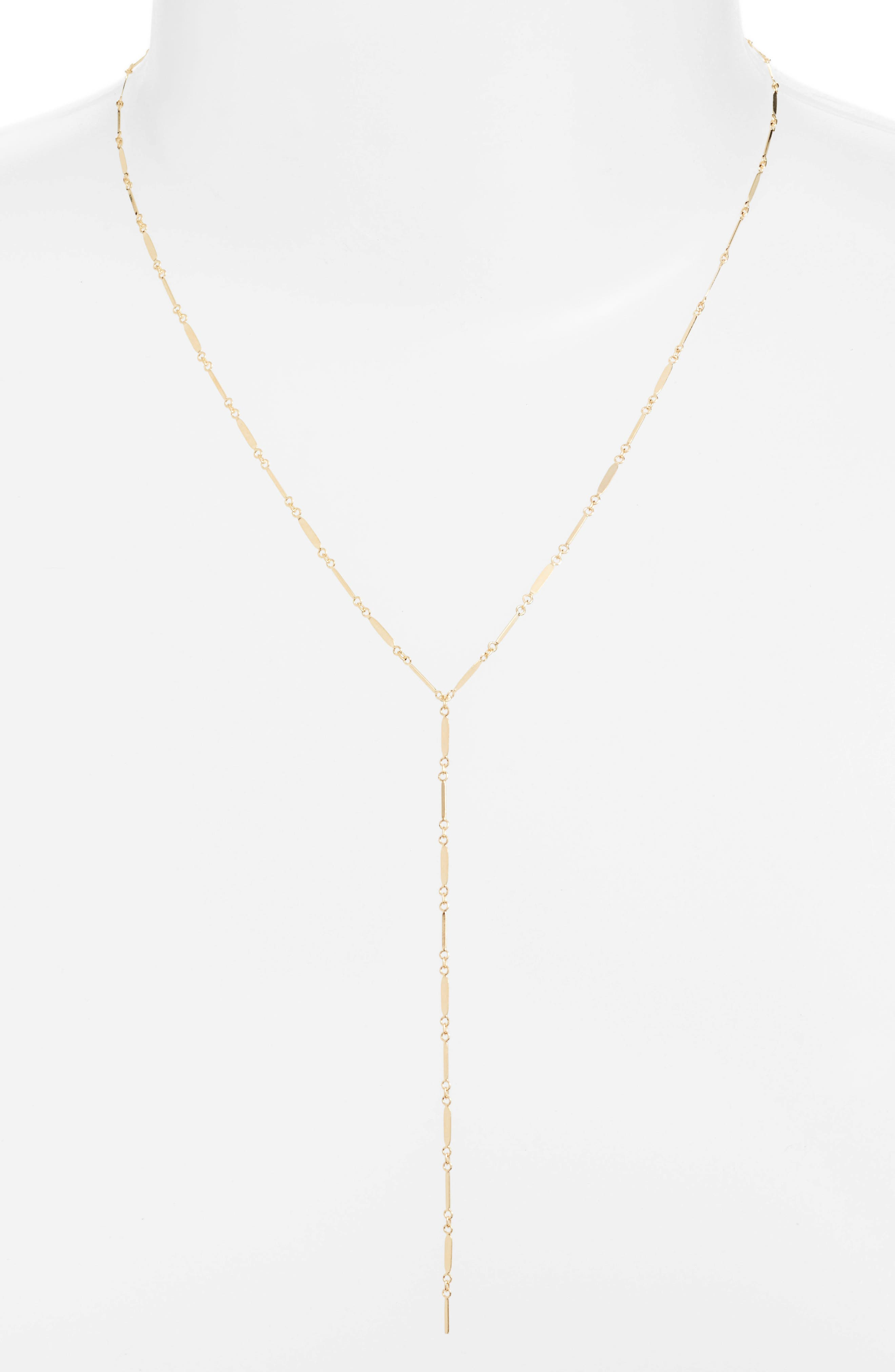 Alternate Image 1 Selected - Argento Vivo Mirror Bar Lariat Necklace