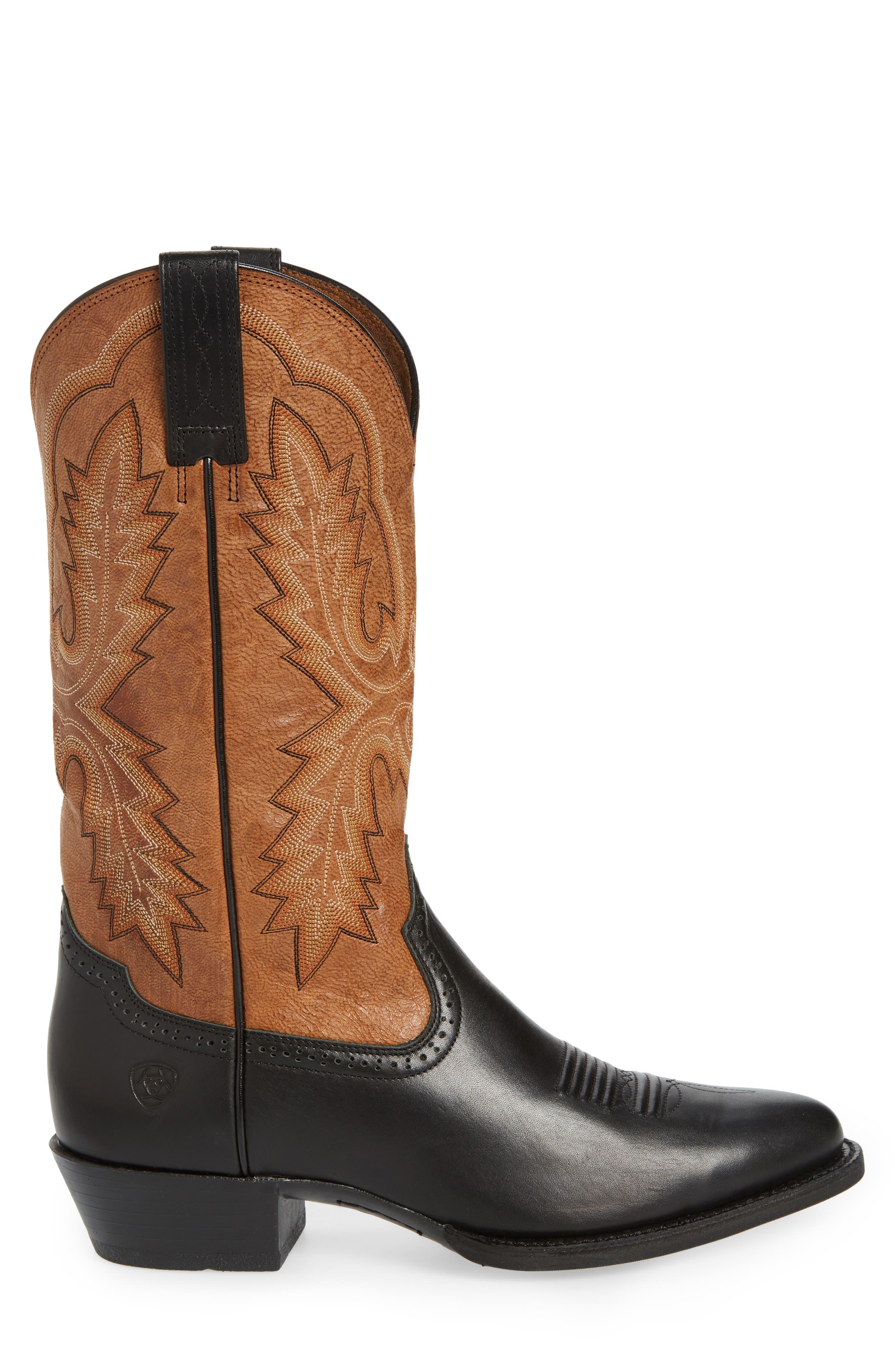 Alternate Image 3  - Ariat Heritage Calhoun Western R-Toe Boot (Men)