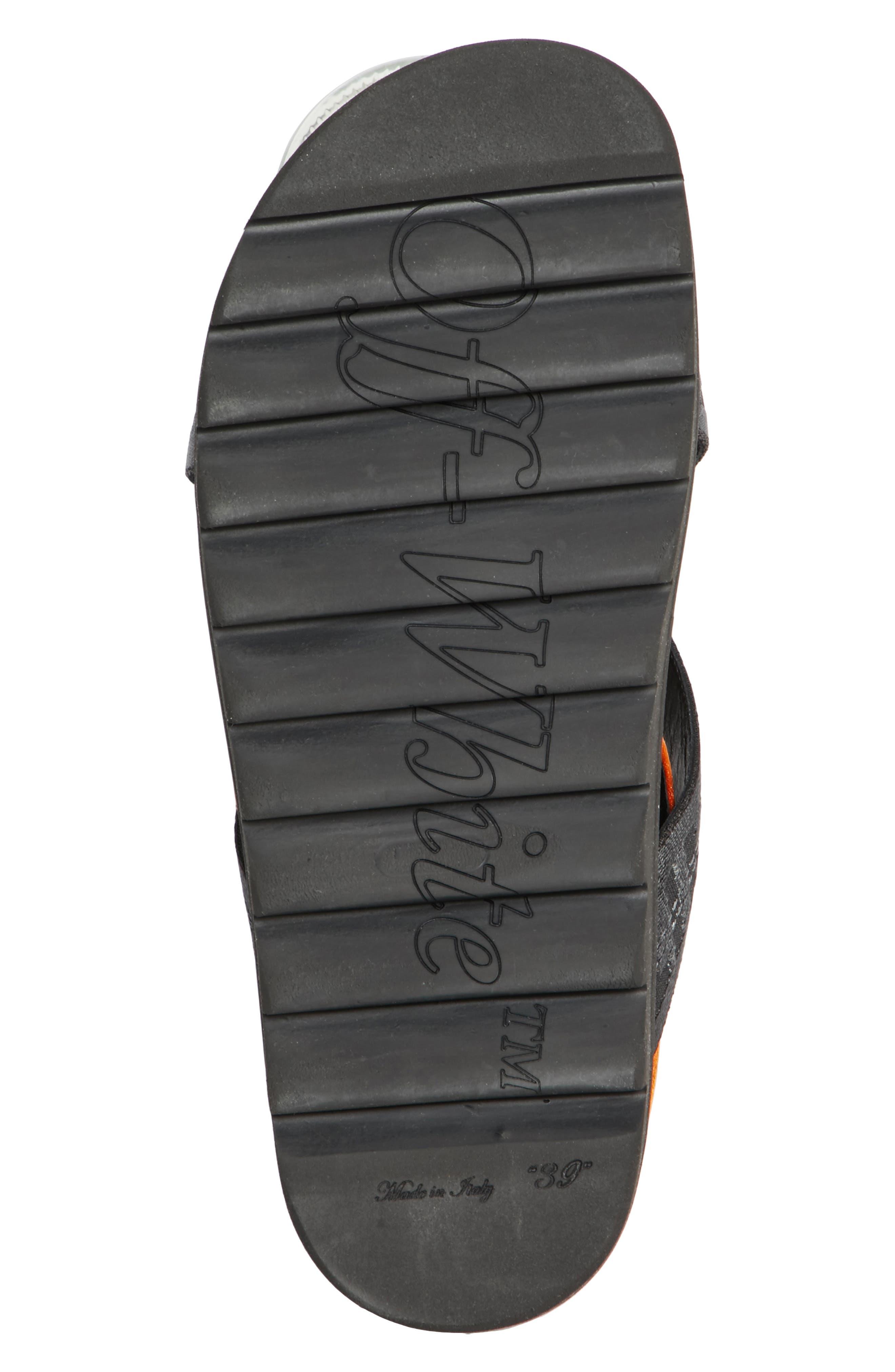Industrial Belt Sandal,                             Alternate thumbnail 6, color,                             Black Black