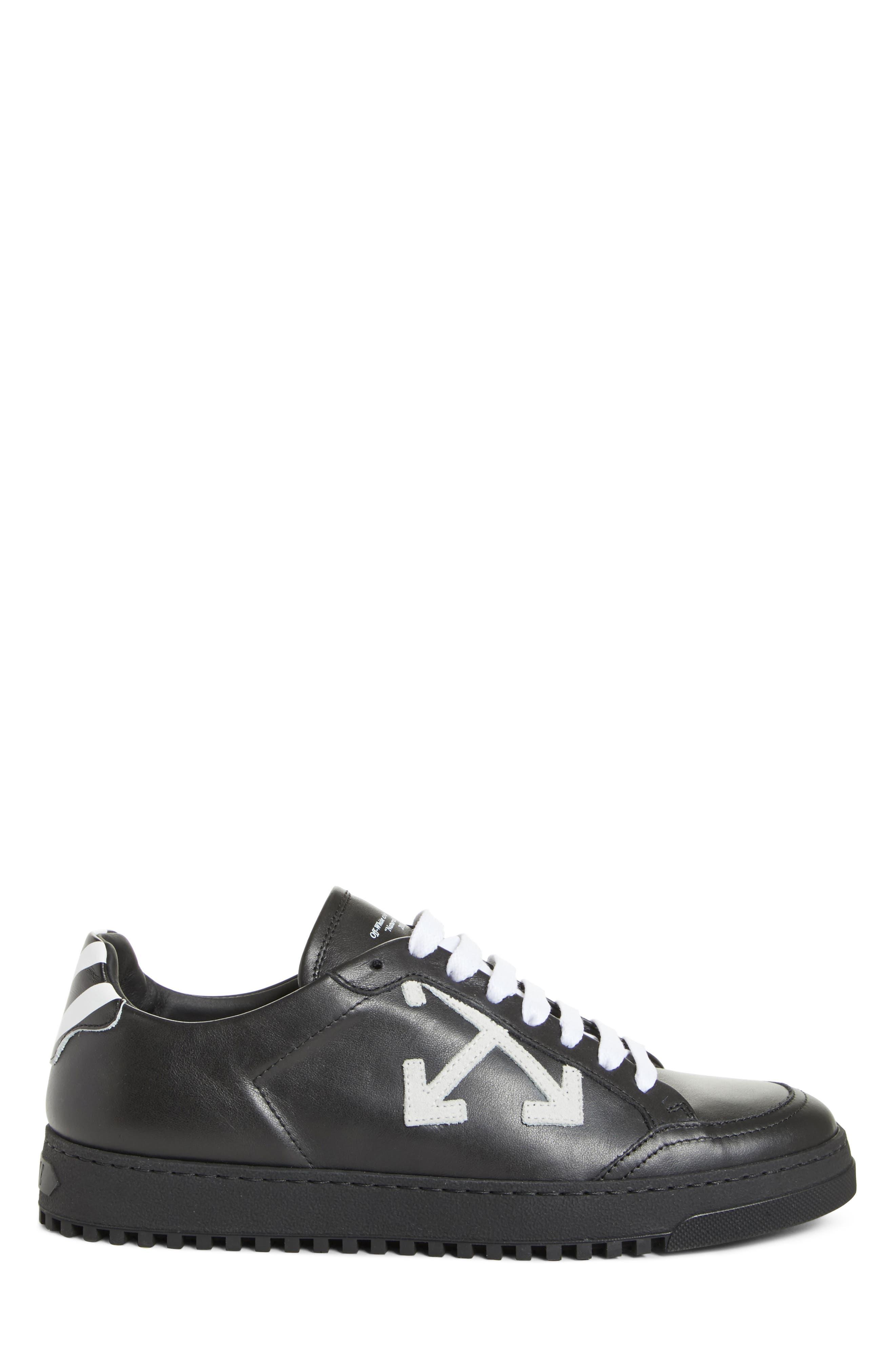 Arrow Sneaker,                             Alternate thumbnail 3, color,                             Black White