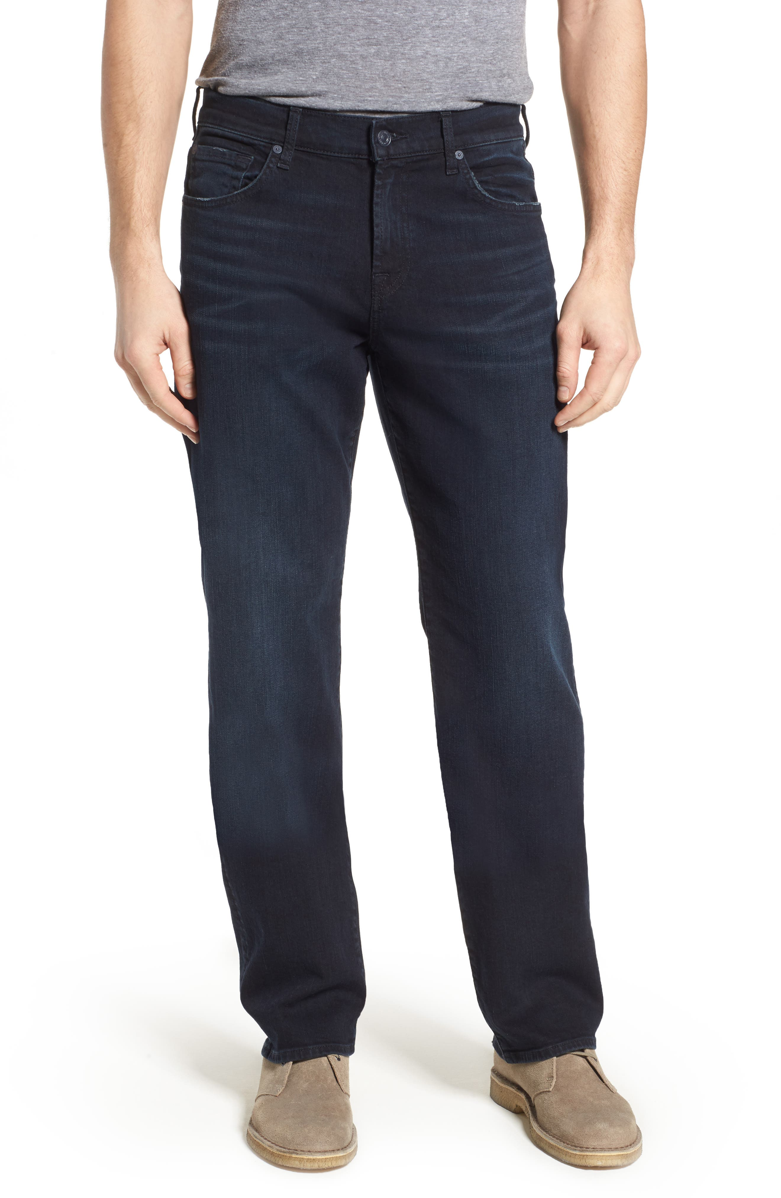 Main Image - 7 For All Mankind® 'Austyn- LuxePerformance' Relaxed Fit Jeans (Havoc)