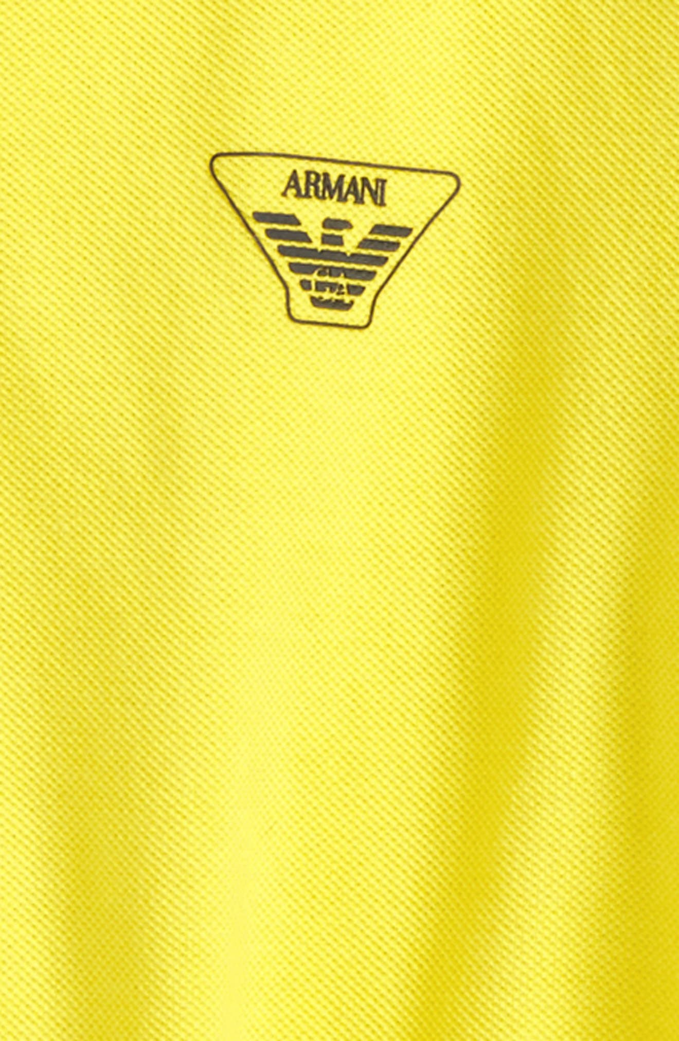 Entry Polo,                             Alternate thumbnail 2, color,                             Yellow