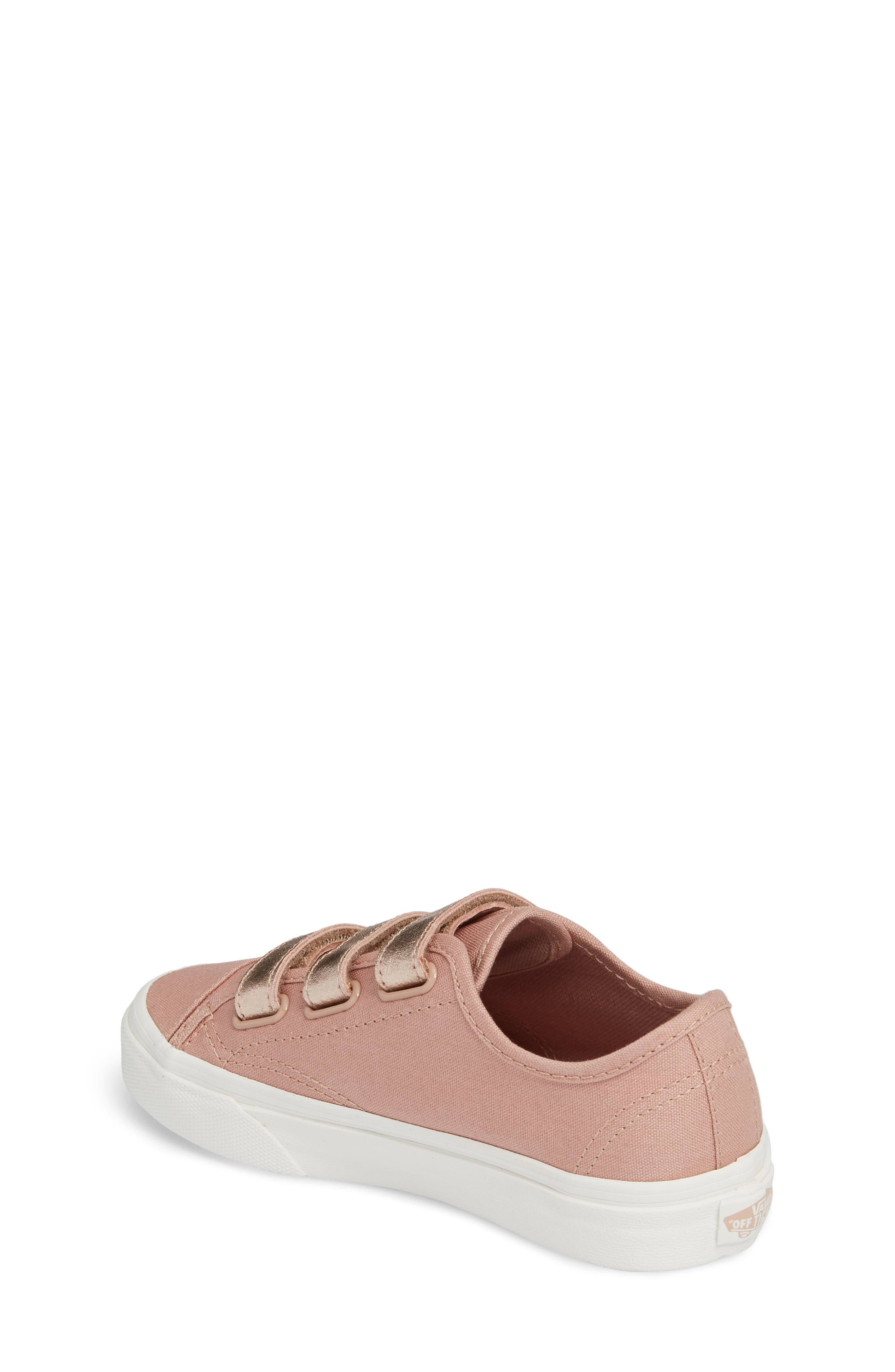 Style 23V Sneaker,                             Alternate thumbnail 2, color,                             Two-Tone Rose Gold Metallic