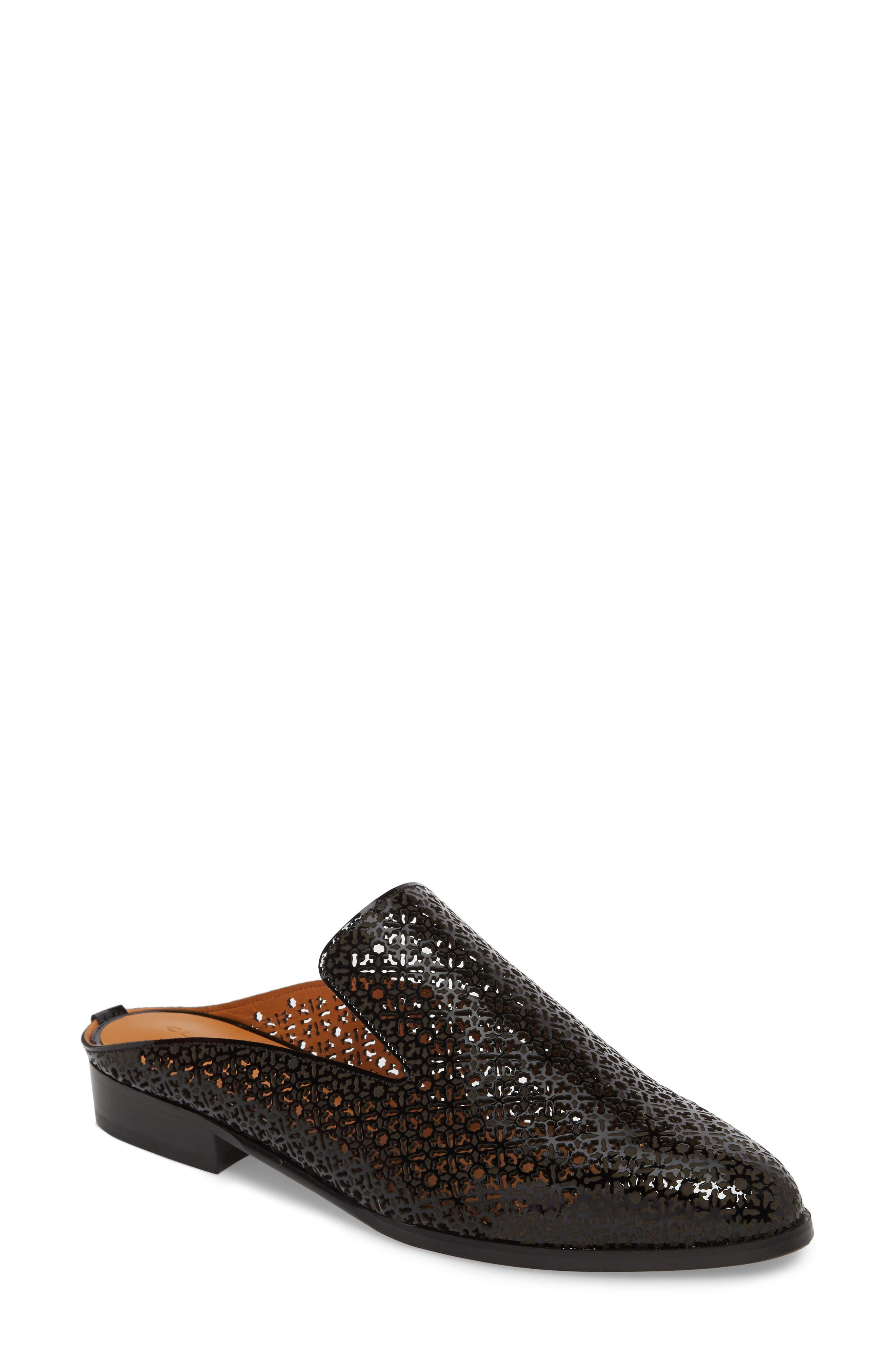 Robert Clergerie Asier Perforated Loafer Mule (Women)