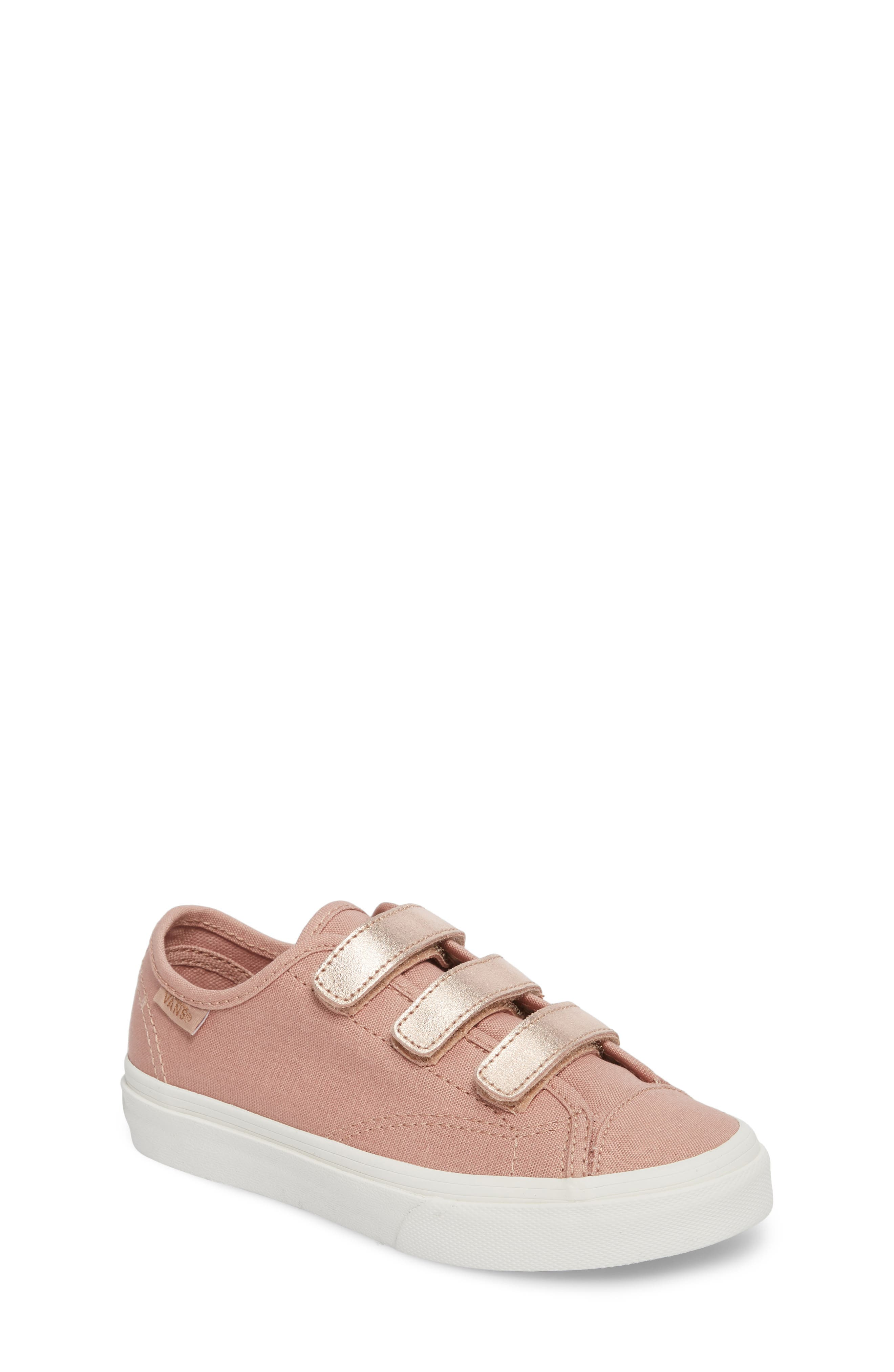 Style 23V Sneaker,                         Main,                         color, Two-Tone Rose Gold Metallic