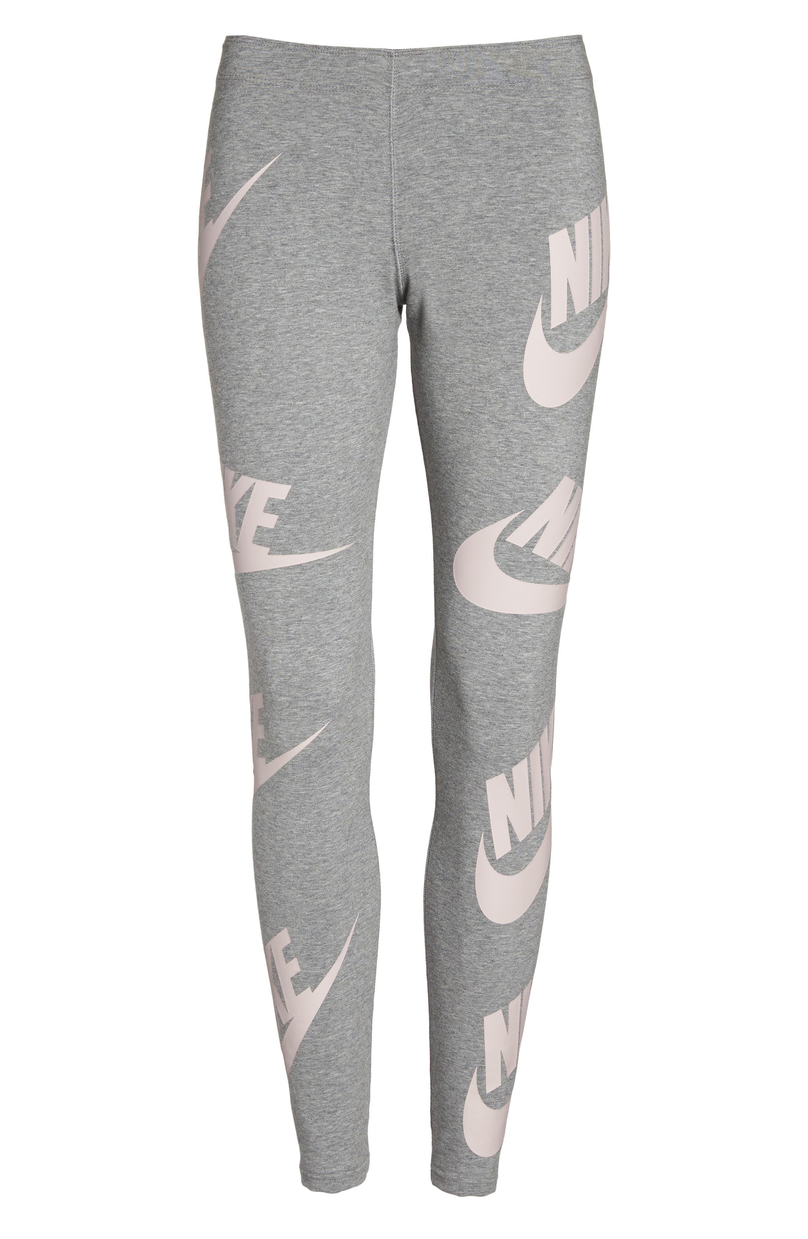 Alternate Image 7  - Nike Sportswear Graphic Leggings