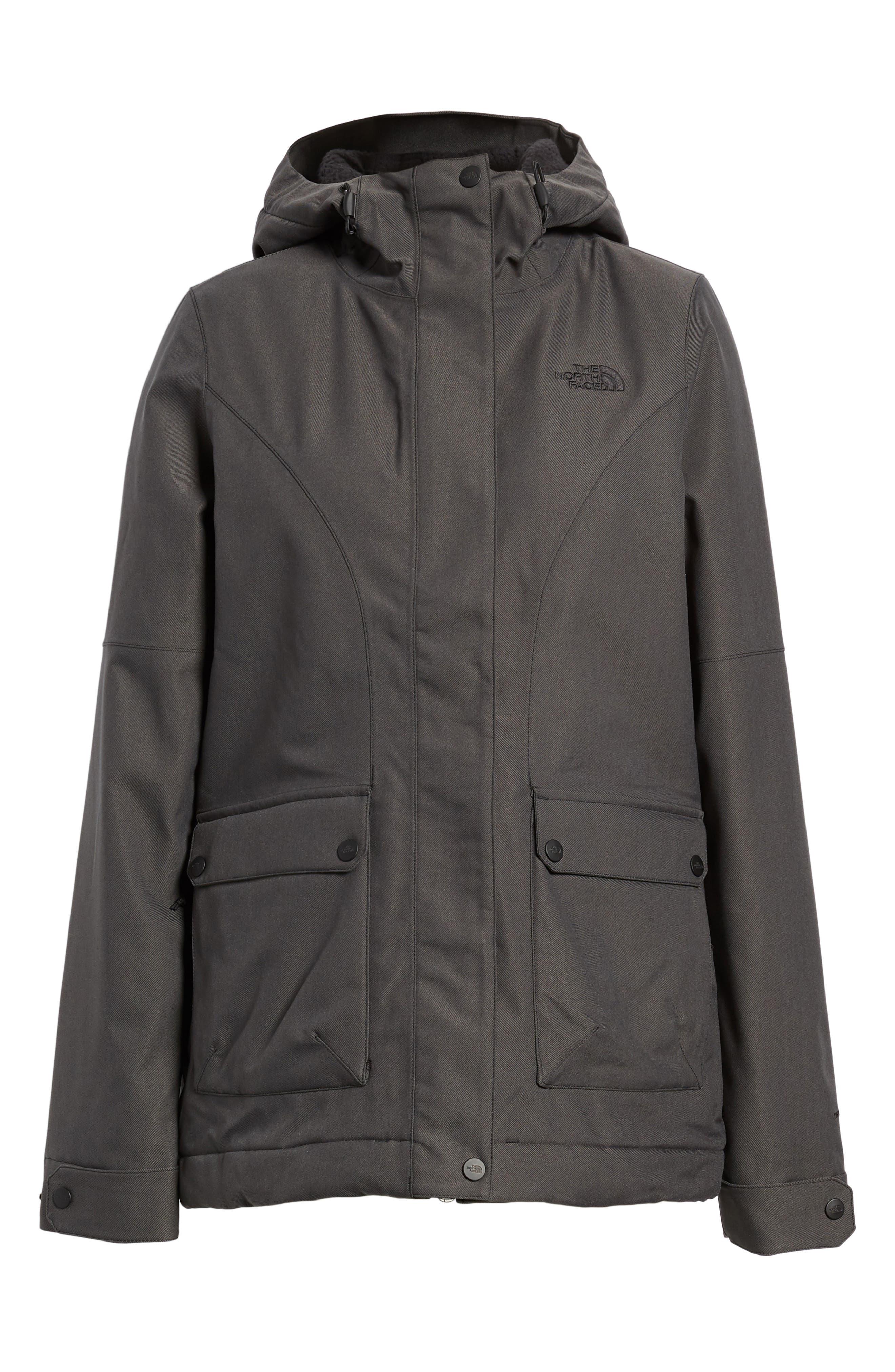 Firesyde Field Jacket,                         Main,                         color, Tnf Black Heather