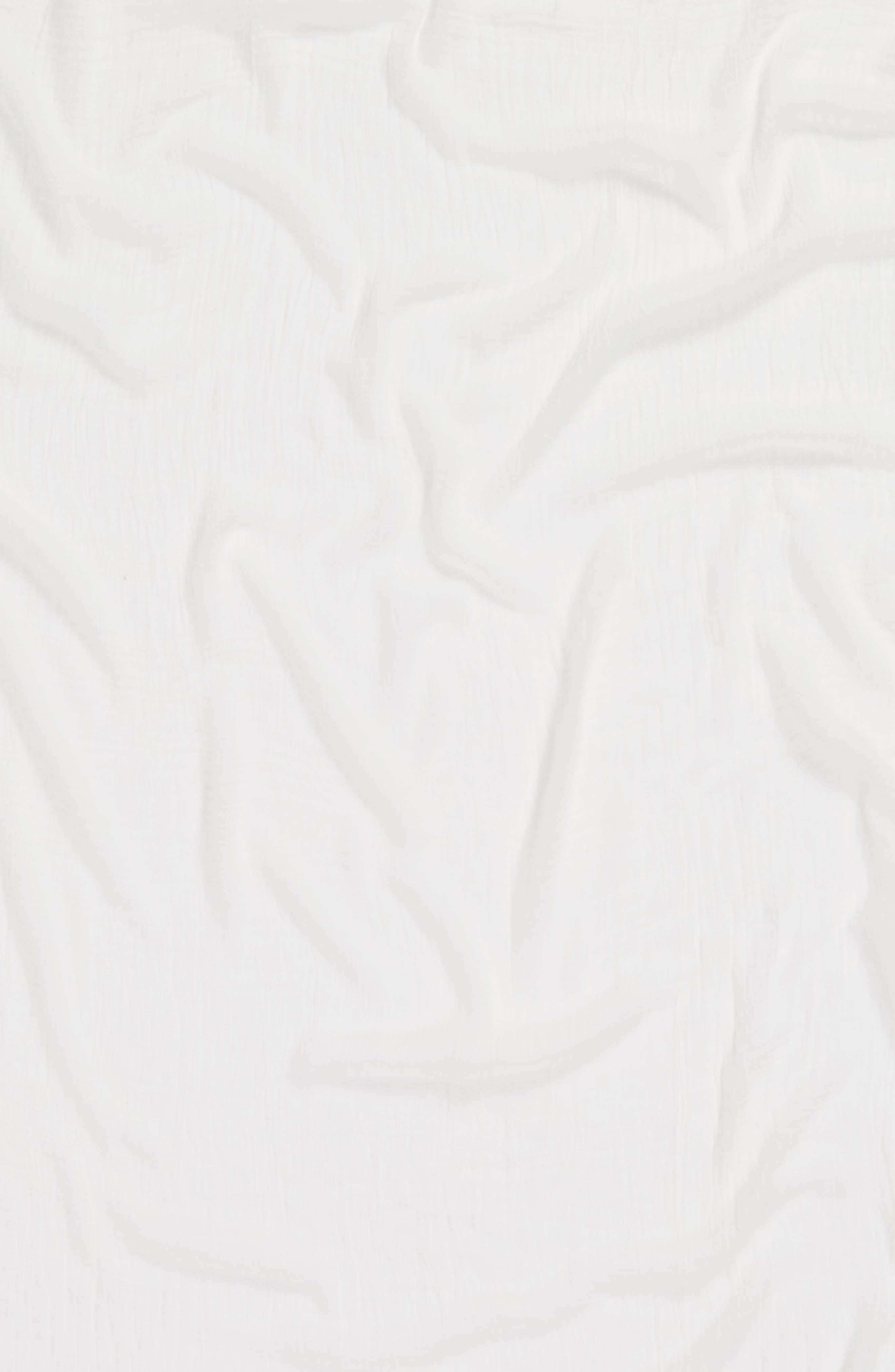 Tassel Wrap,                             Alternate thumbnail 4, color,                             Ivory Marshmallow