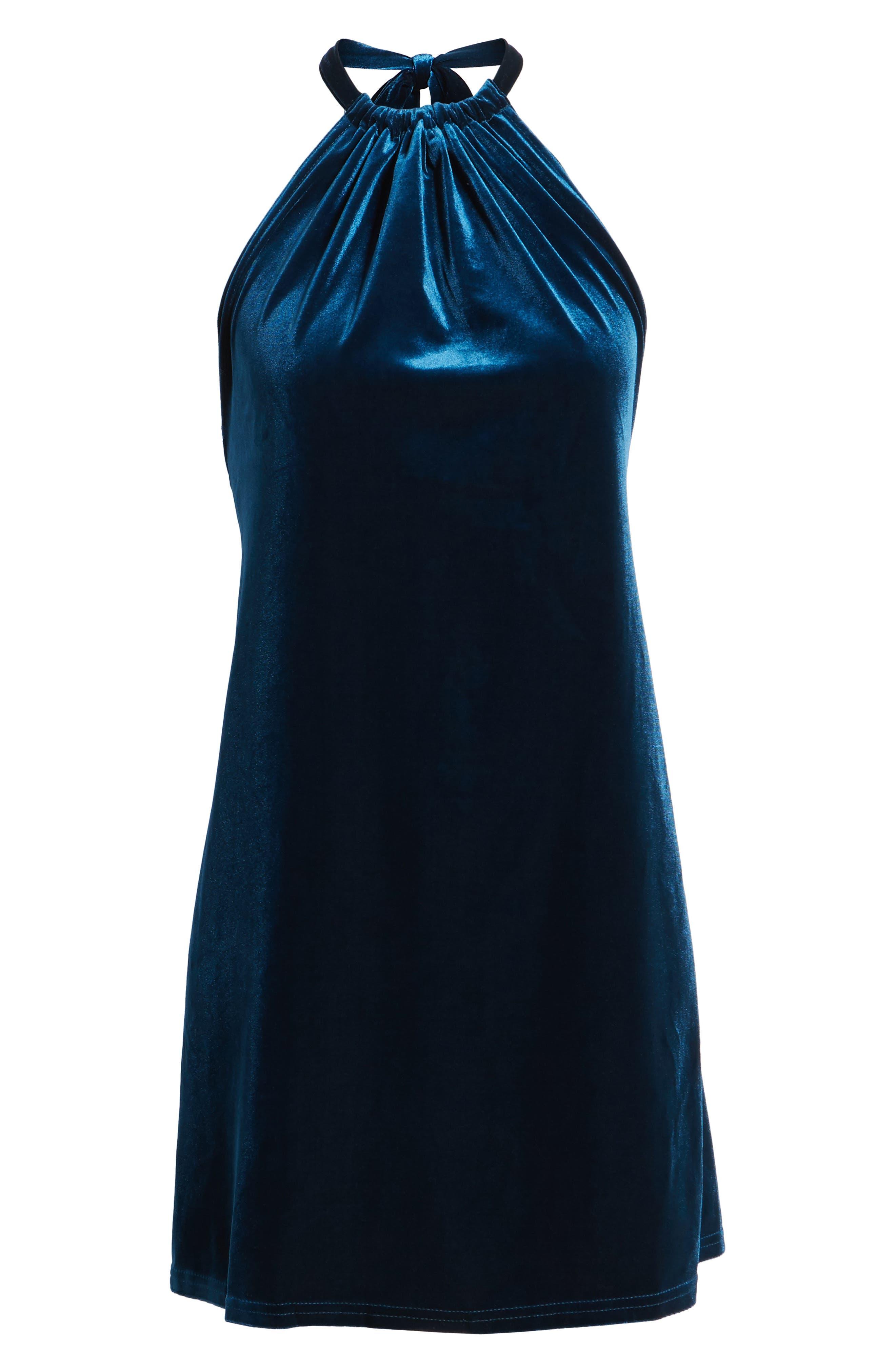 Alternate Image 6  - Bishop + Young Talia Velvet Minidress