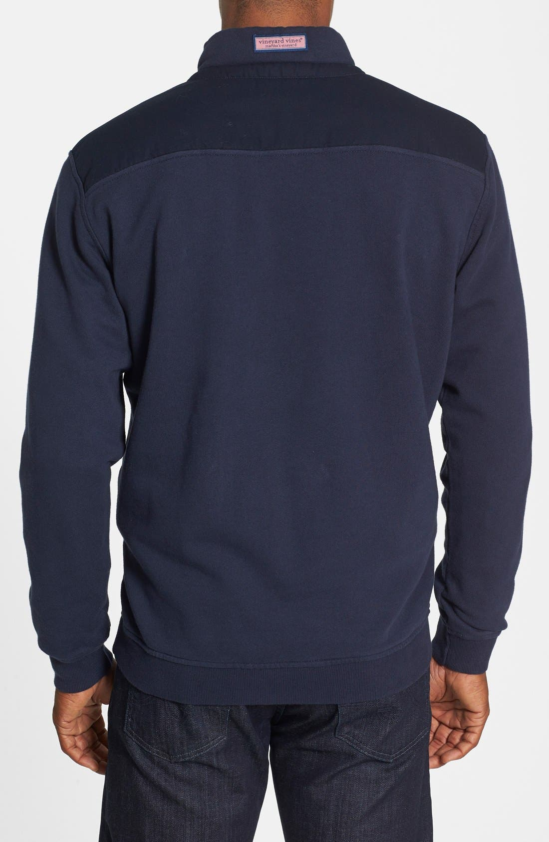 Alternate Image 2  - vineyard vines Shep Quarter Zip Pullover Sweatshirt