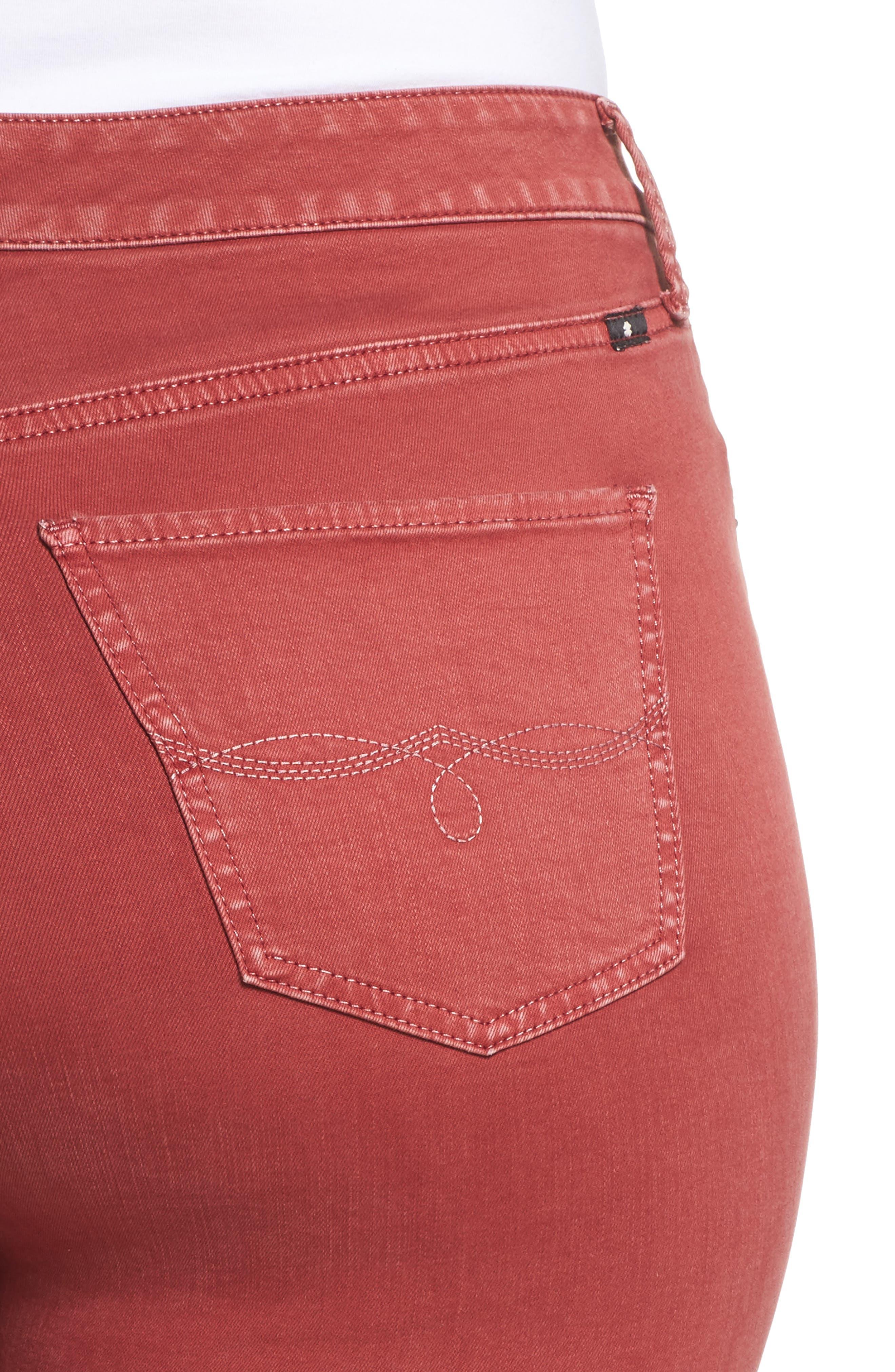 Emma Crop Jeans,                             Alternate thumbnail 4, color,                             La Cara