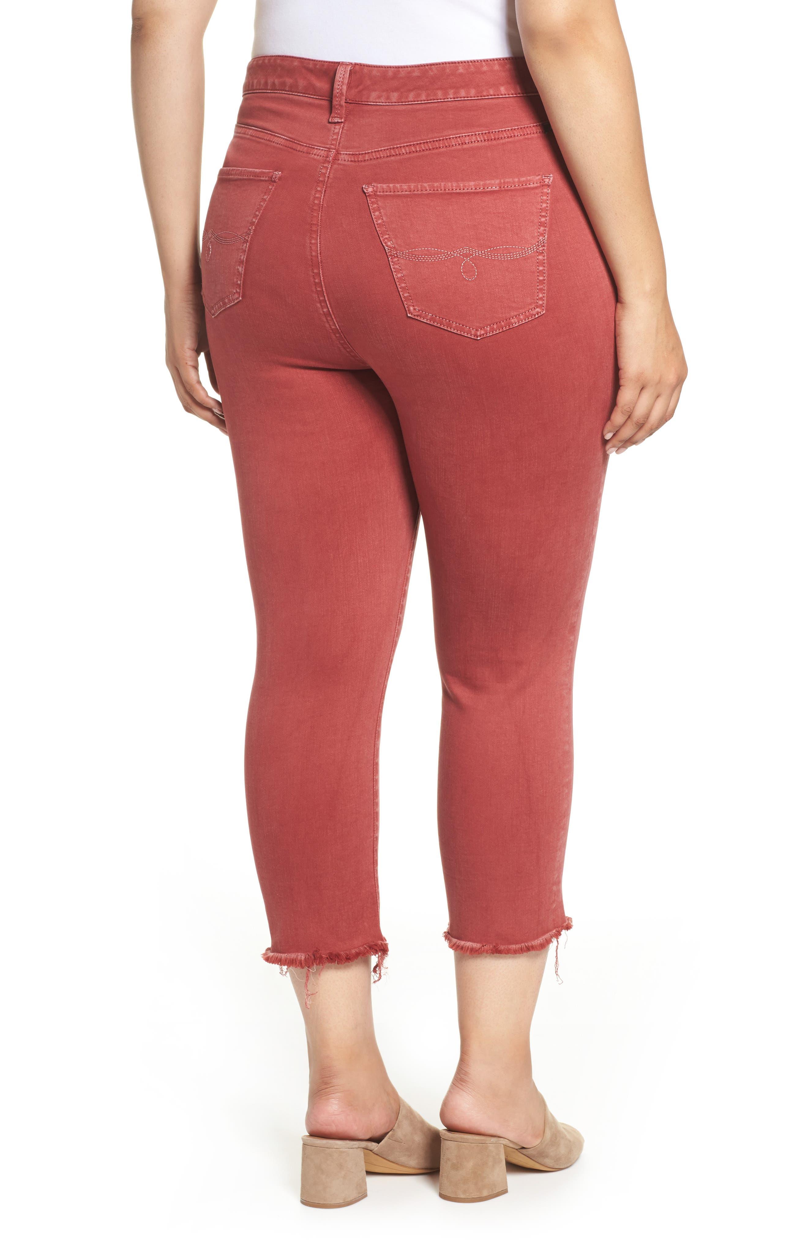 Emma Crop Jeans,                             Alternate thumbnail 2, color,                             La Cara