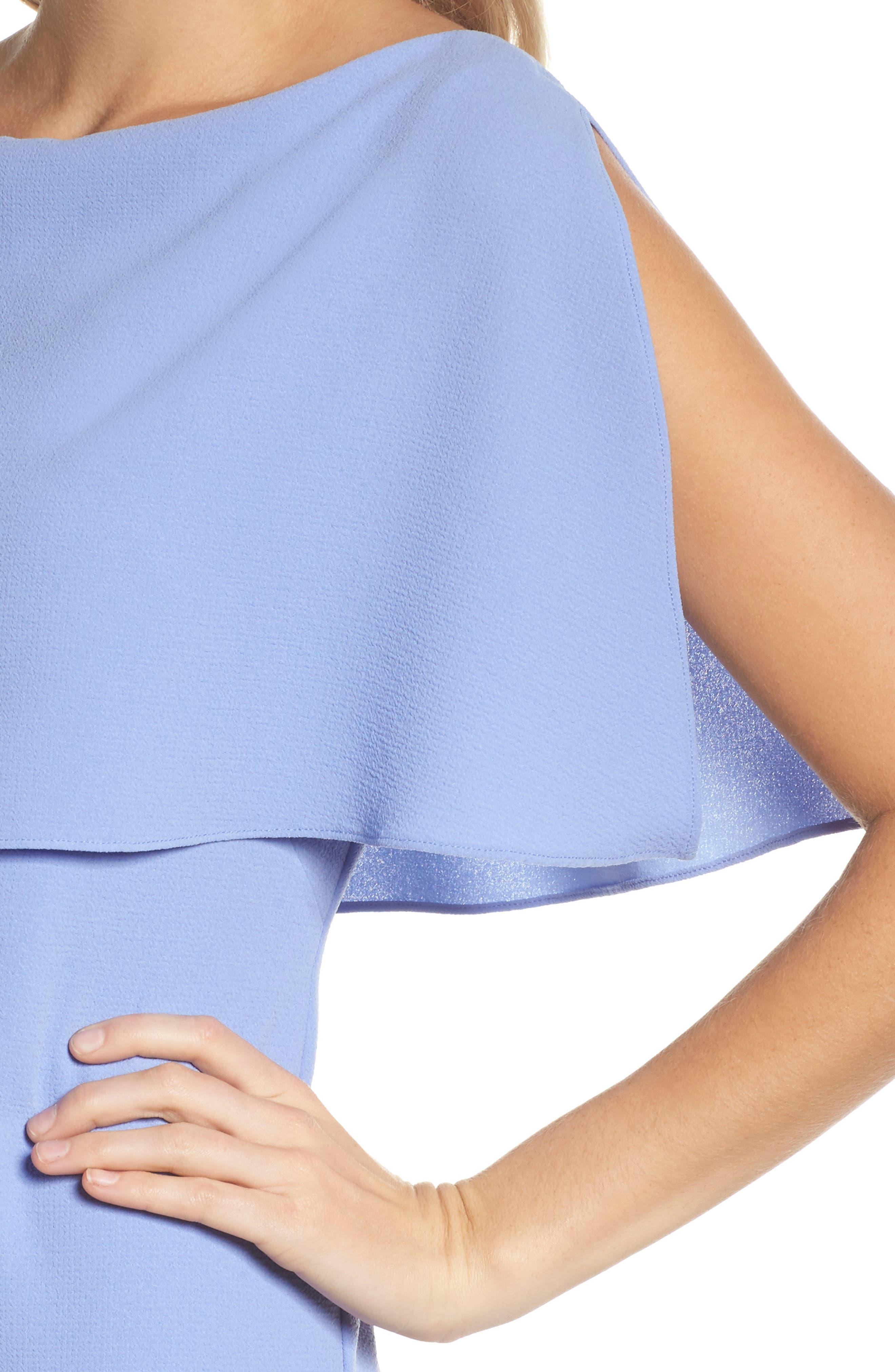 Alternate Image 4  - Adrianna Papell Split Sleeve Sheath Dress