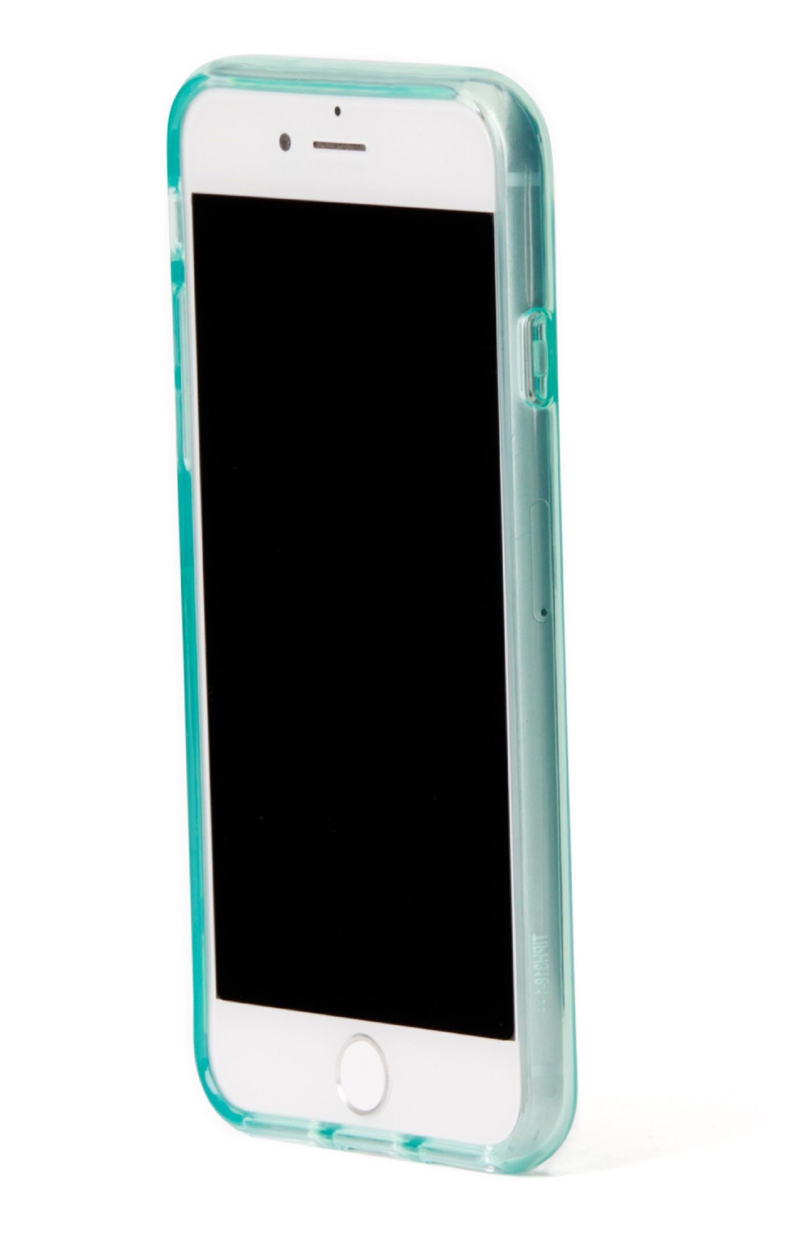 tinted iPhone 7/8 & 7/8 Plus case,                             Alternate thumbnail 2, color,                             Mint