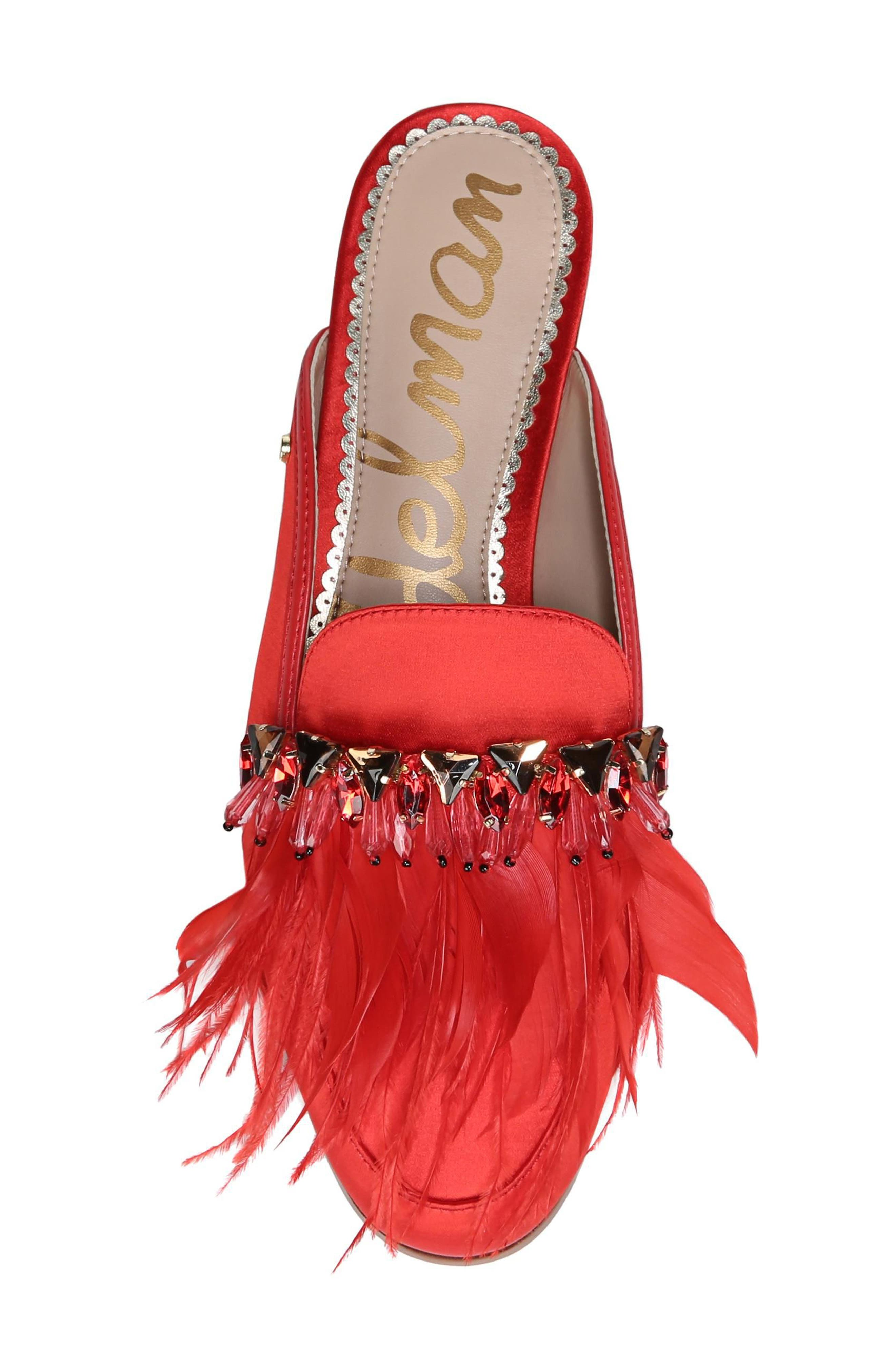 Alternate Image 5  - Sam Edelman Landis Feather Mule (Women)
