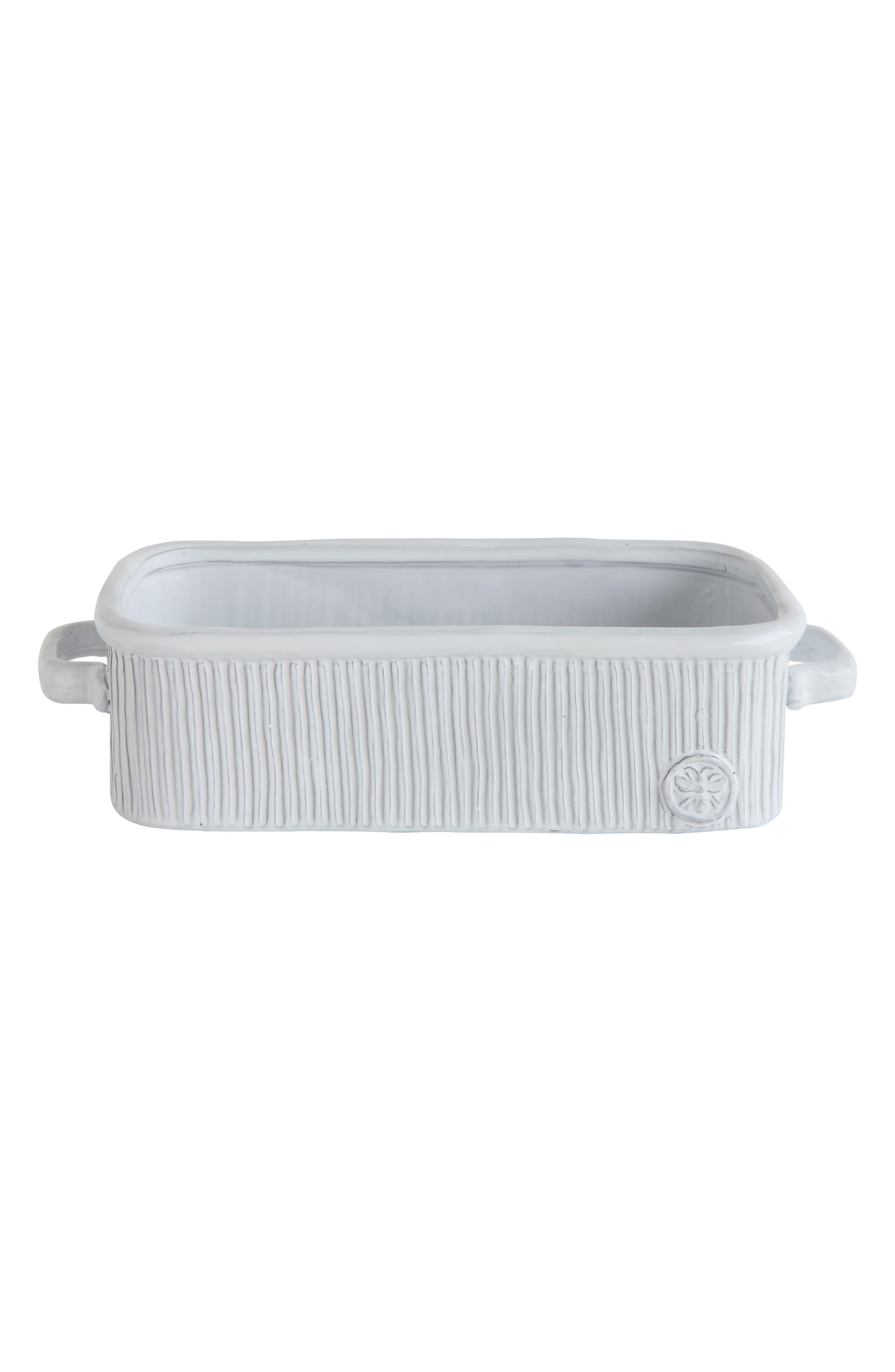 Creative Co-Op Ceramic Loaf Pan