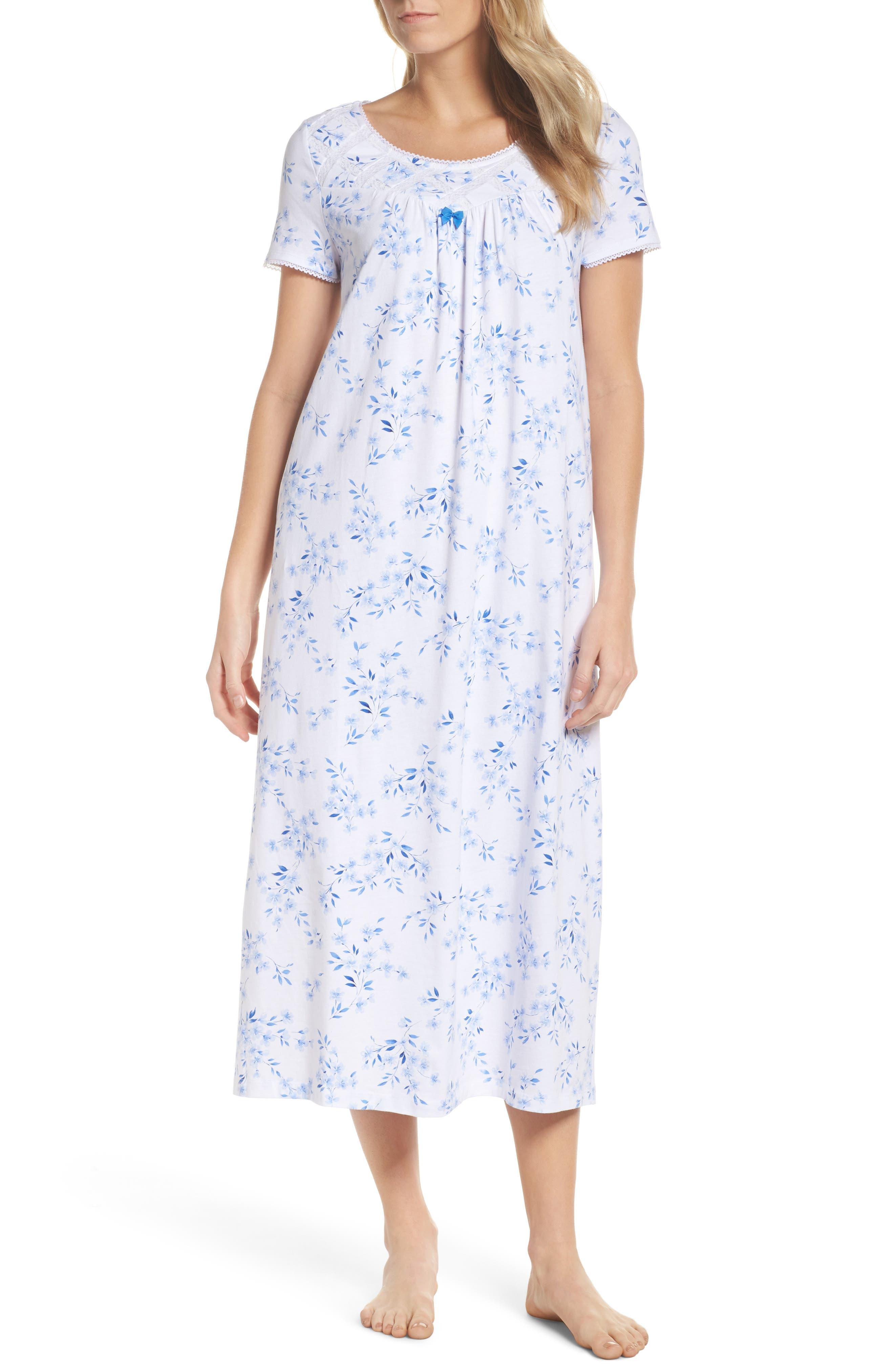 Carole Hochman Jersey Long Nightgown