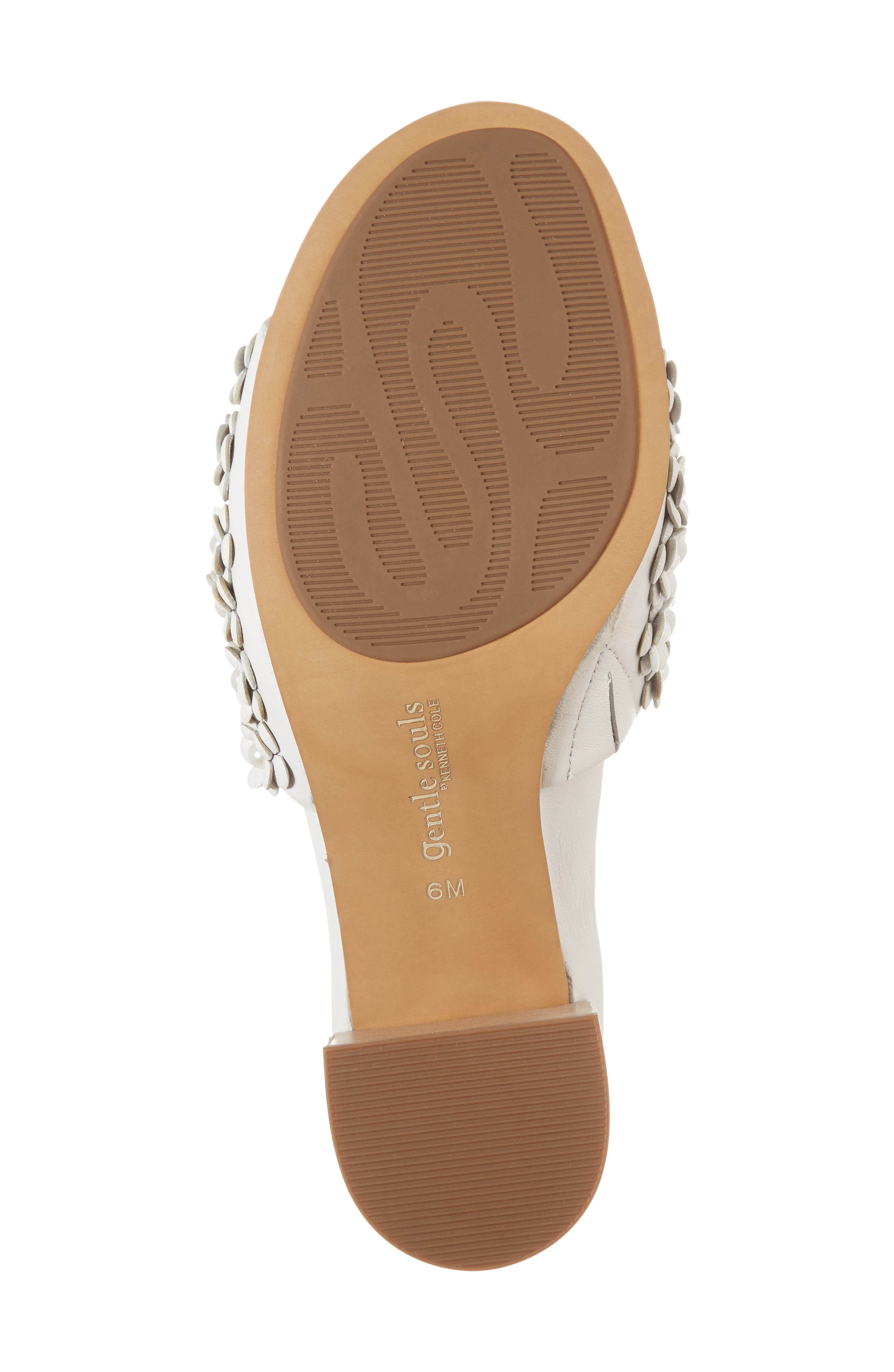 by Kenneth Cole Chantel Sandal,                             Alternate thumbnail 6, color,                             White Flowers Leather