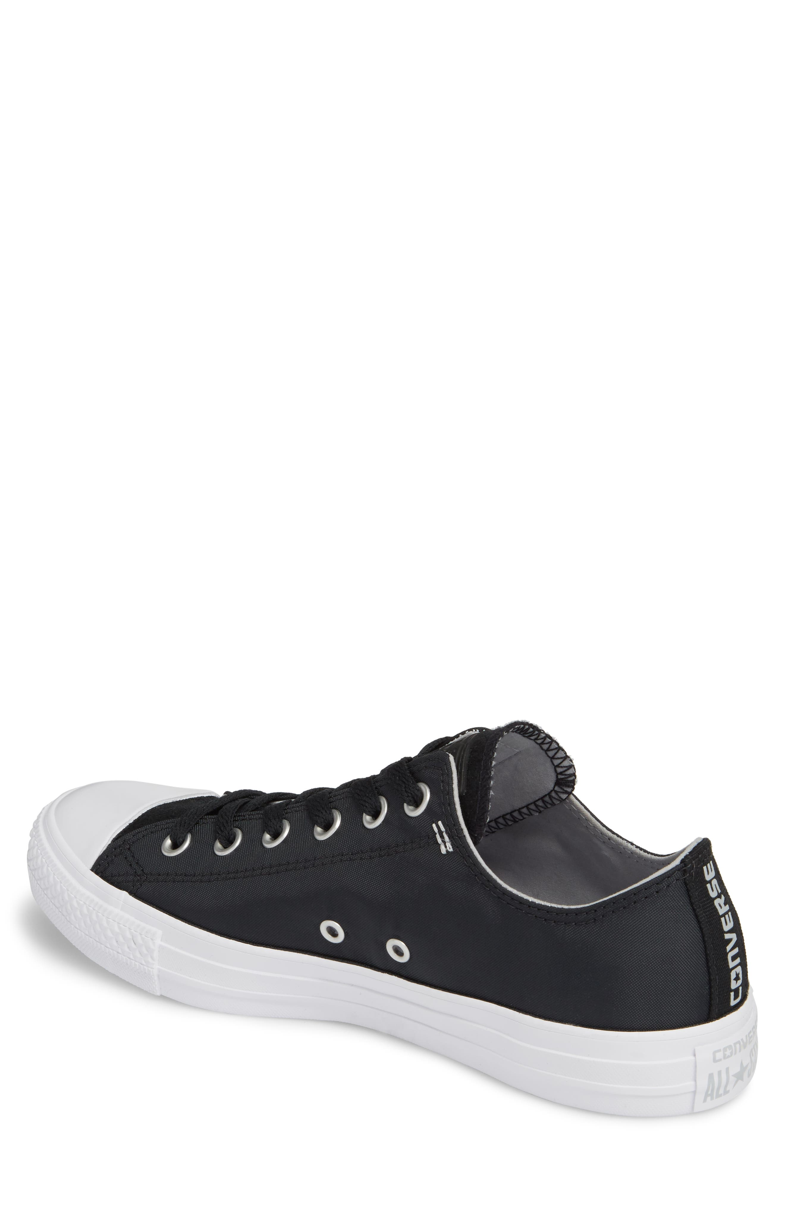 All Star<sup>®</sup> OX Low Top Sneaker,                             Alternate thumbnail 2, color,                             Black