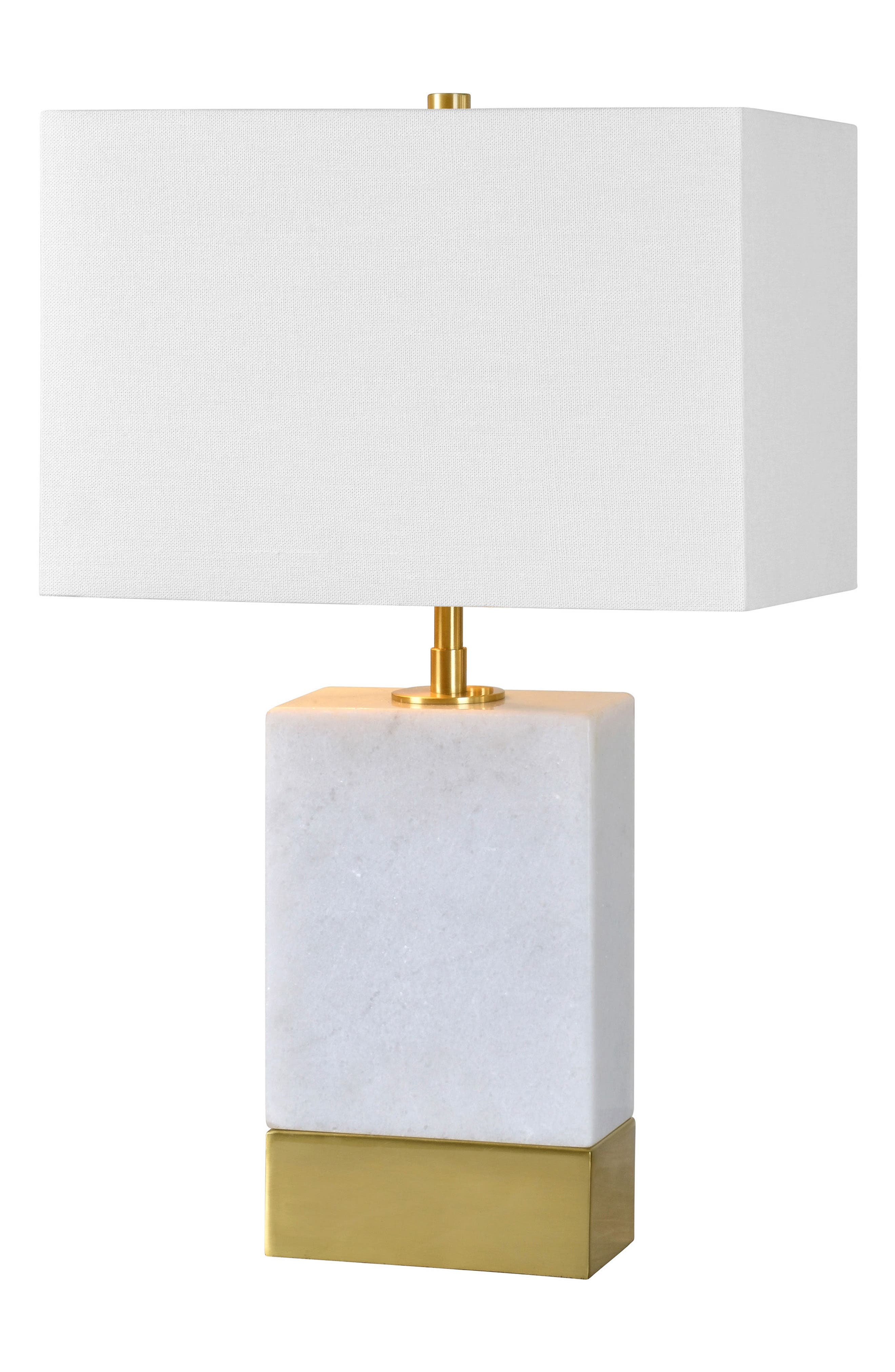 Lucent Table Lamp,                             Main thumbnail 1, color,                             Antique Gold/ White