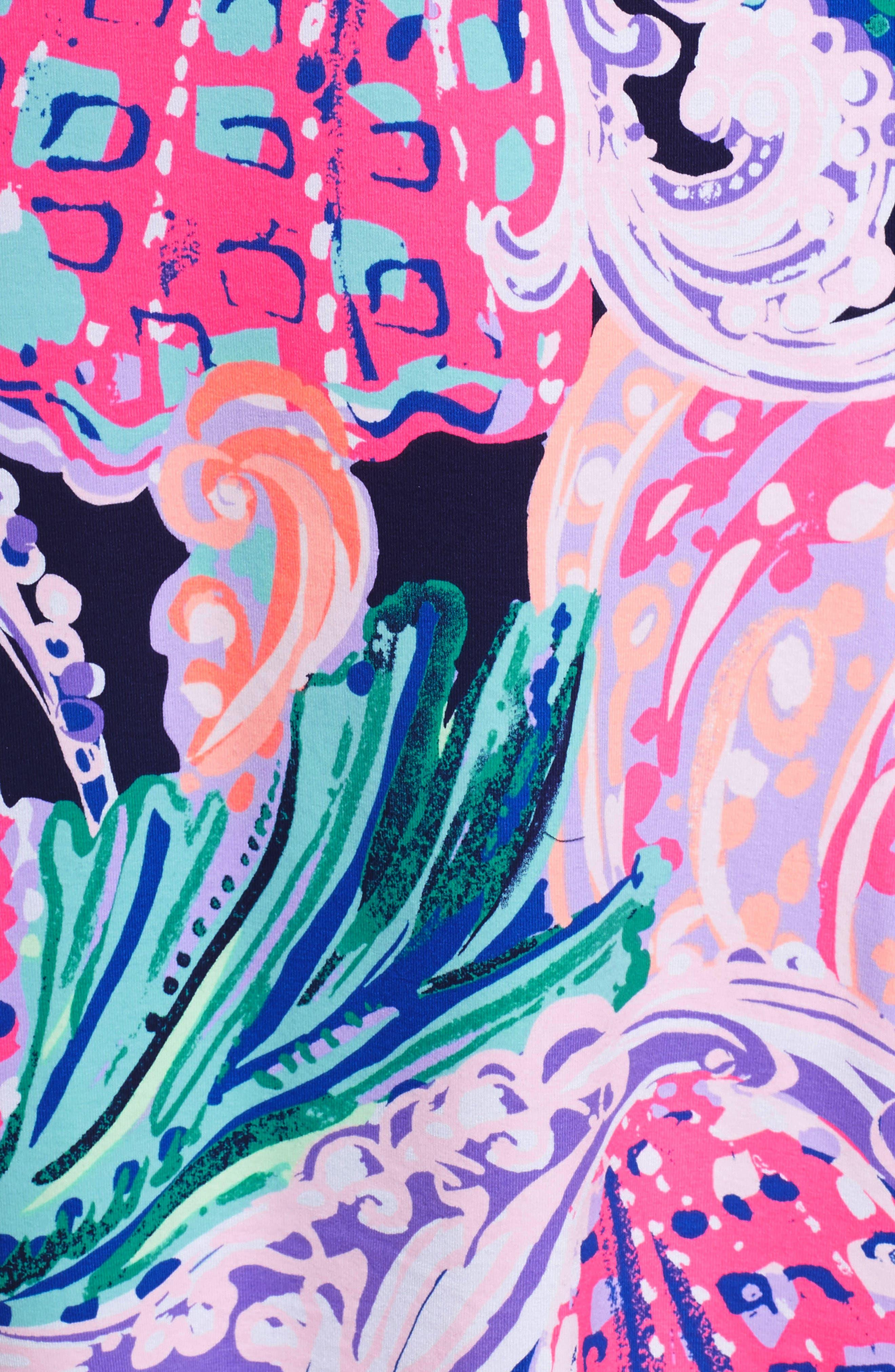 Trisha Off the Shoulder Dress,                             Alternate thumbnail 5, color,                             Multi All That She Wants