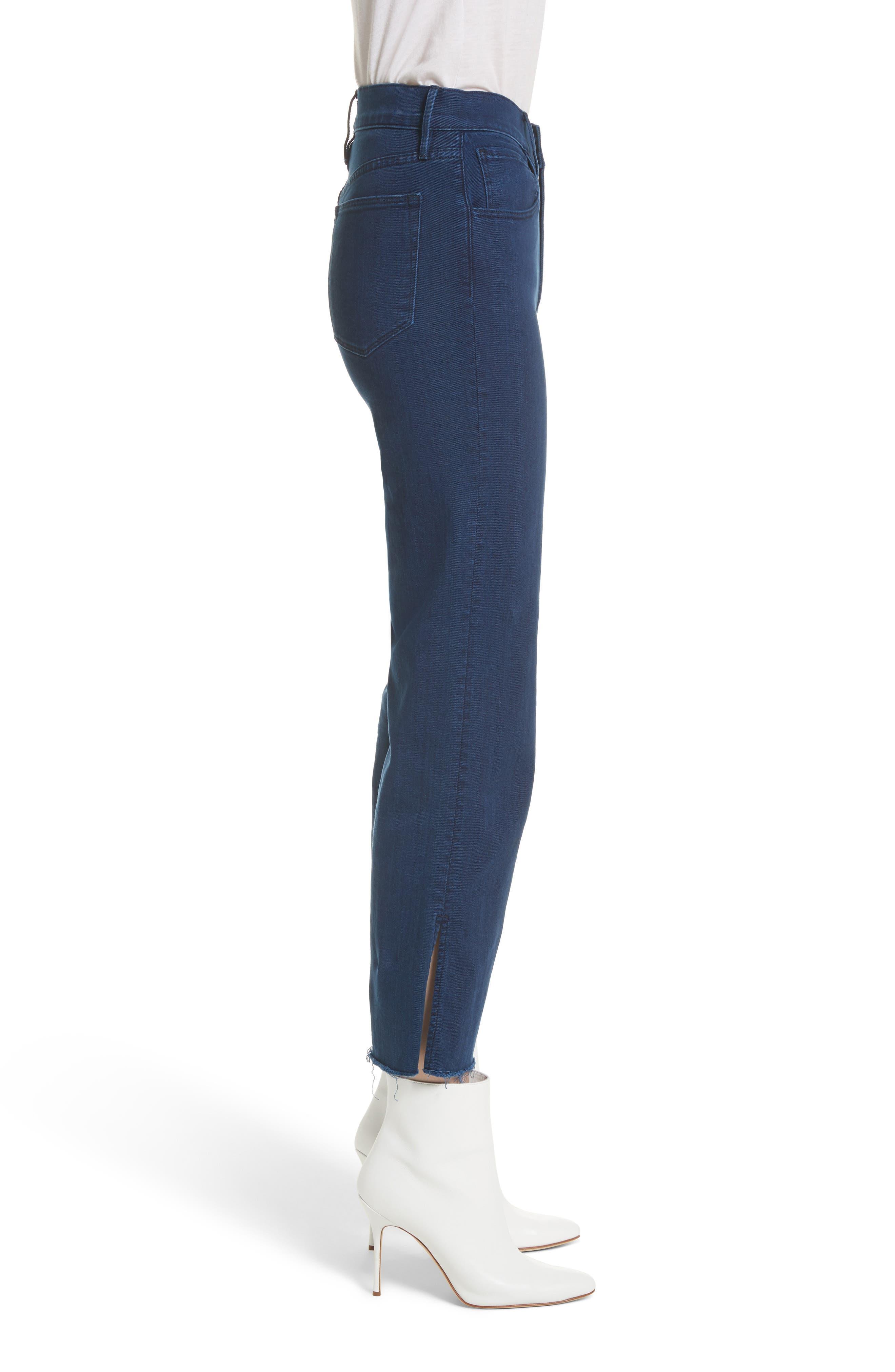W4 Shelter Crop Wide Leg Jeans,                             Alternate thumbnail 3, color,                             Arrow