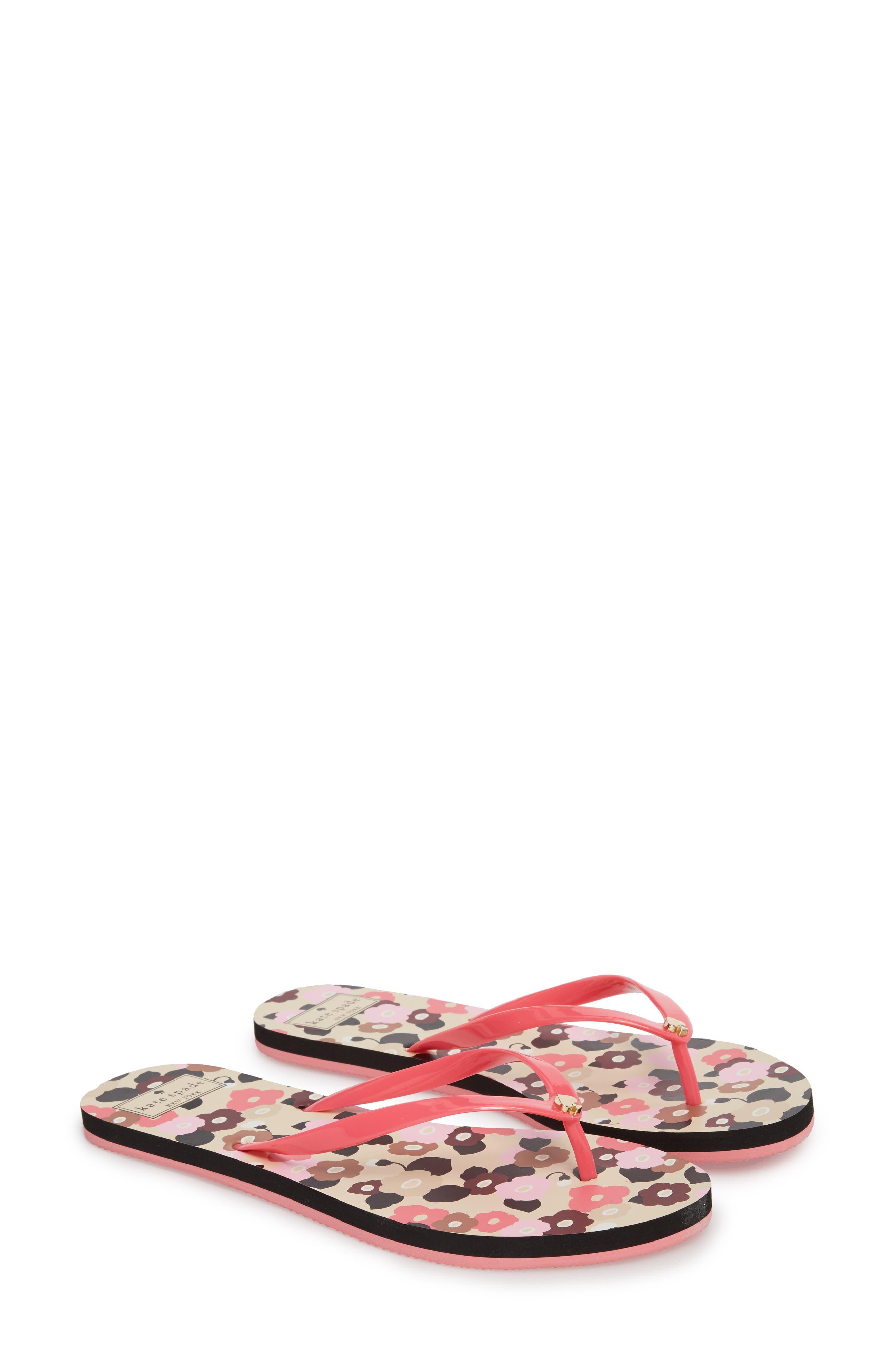 nassau flip flop,                             Main thumbnail 1, color,                             Petunia Pink
