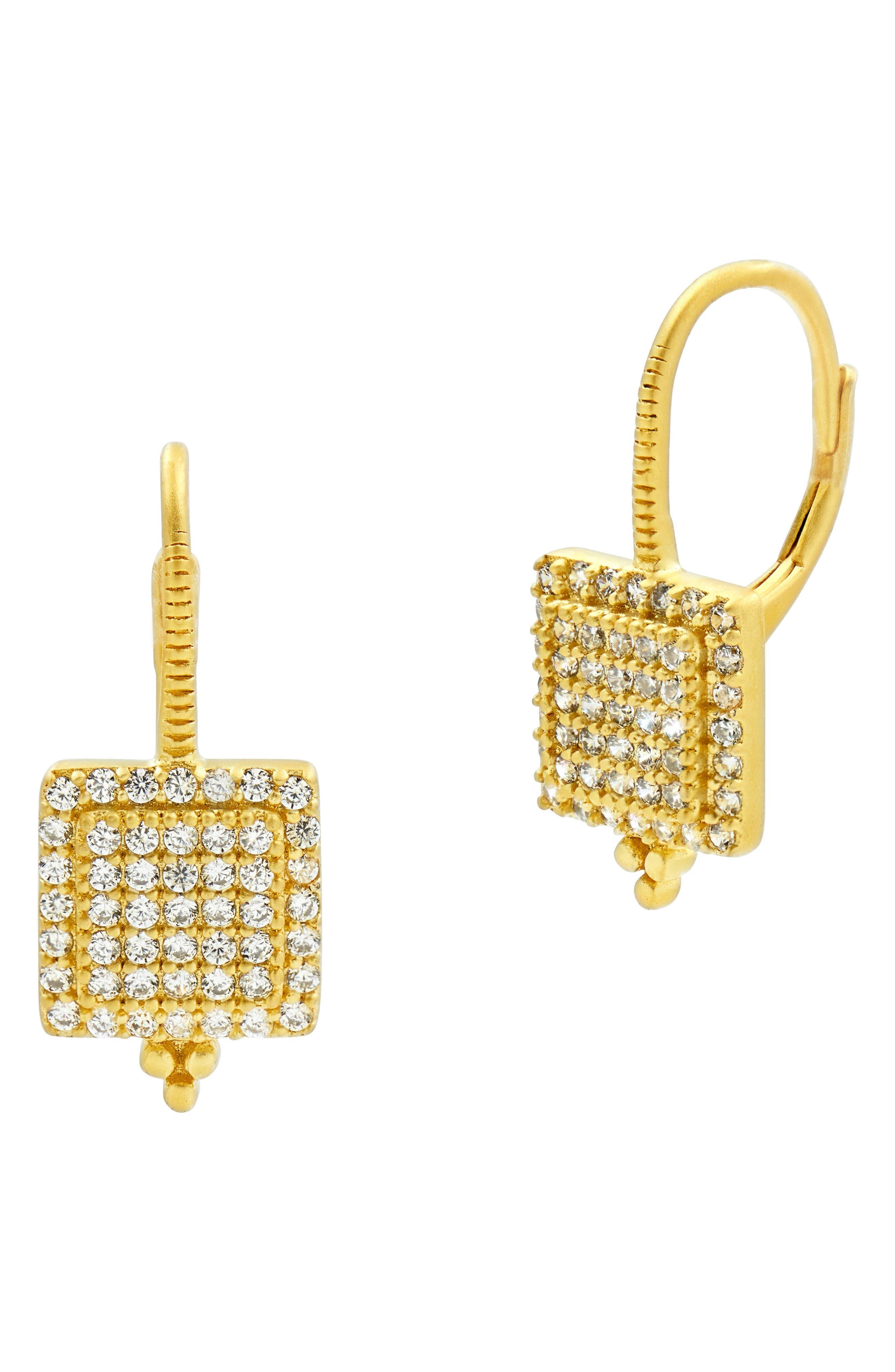 Main Image - FREIDA ROTHMAN Ocean Azure Crystal Drop Earrings