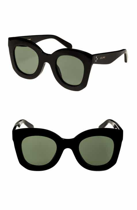 57f6a8538a3 CELINE Special Fit 49mm Cat Eye Sunglasses