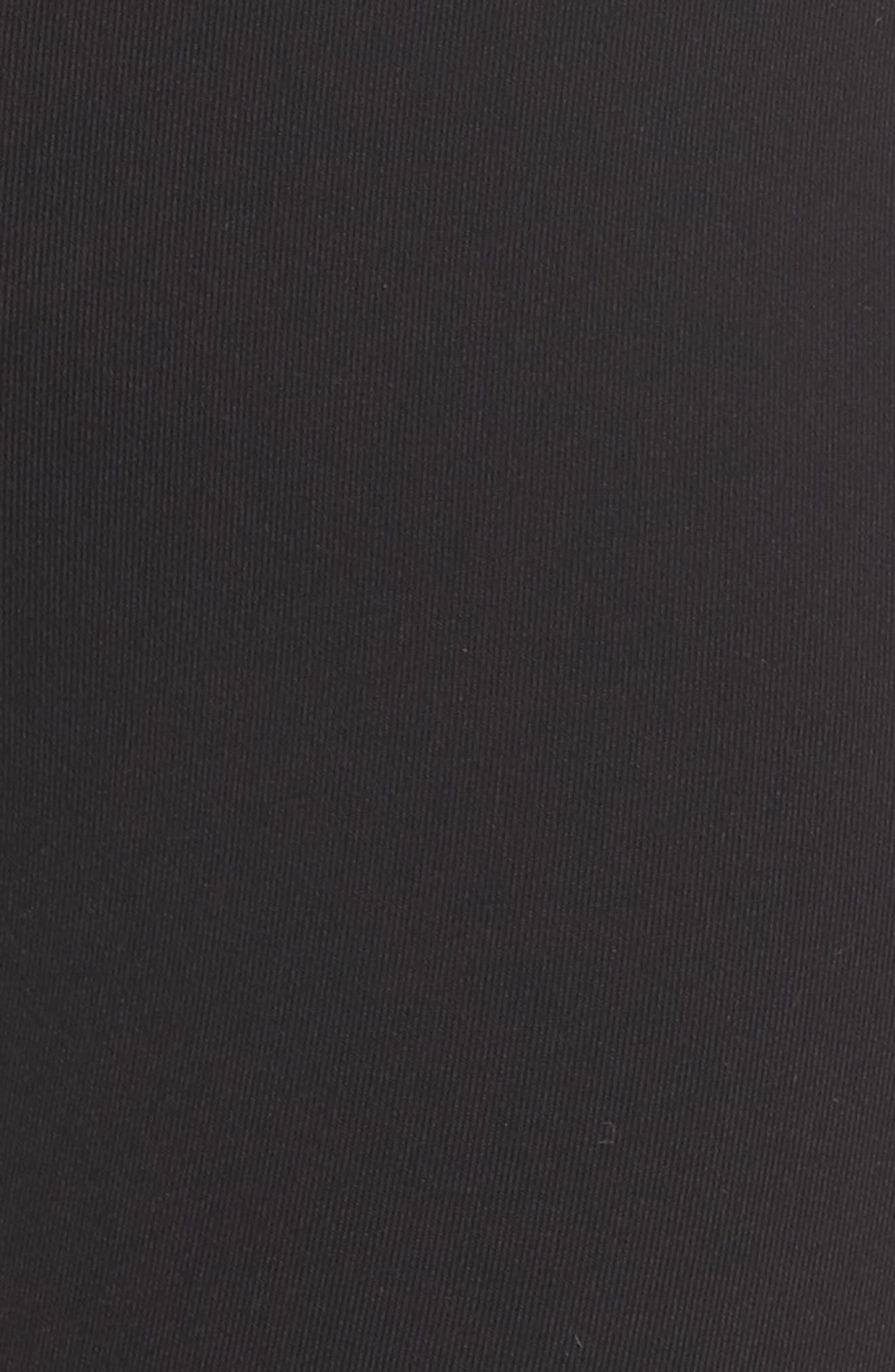 Elevate Leggings,                             Alternate thumbnail 6, color,                             Black/ Uv Blue Glossy/ White
