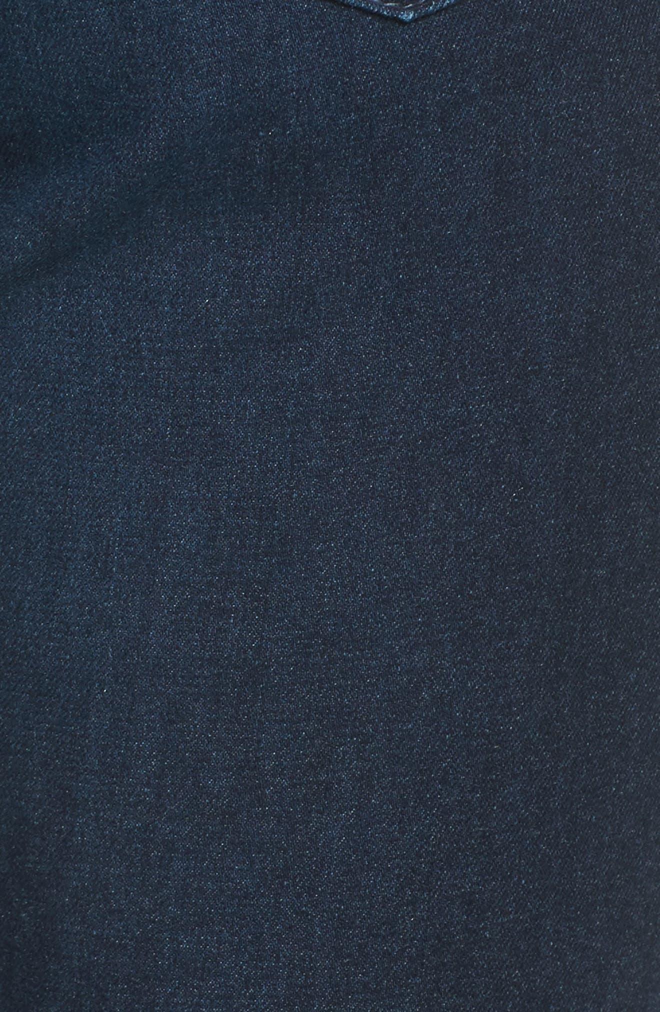 Alternate Image 5  - AG The Farrah High Waist Skinny Jeans
