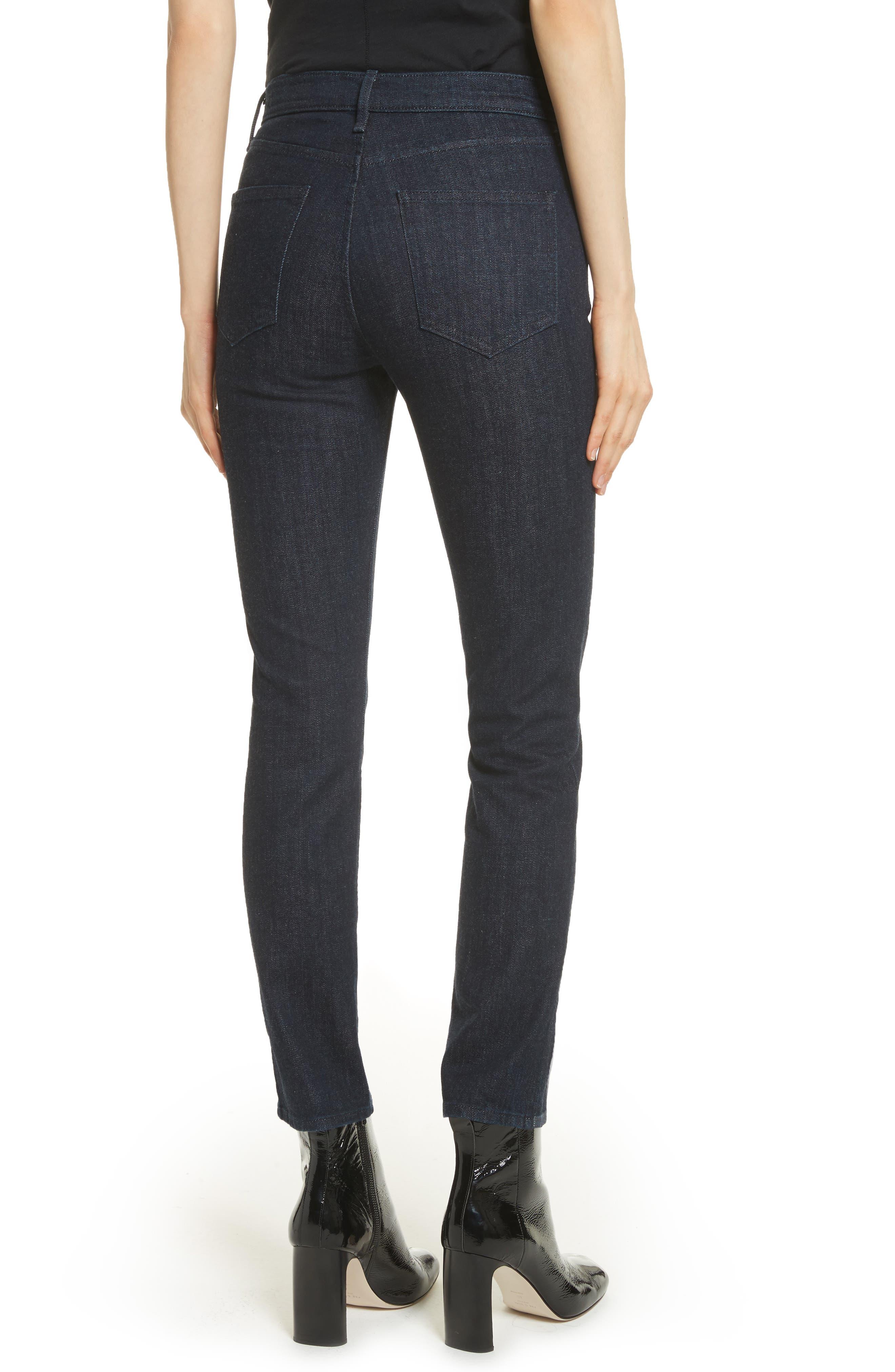 Alternate Image 2  - rag & bone/JEAN Cigarette Leg Skinny Jeans