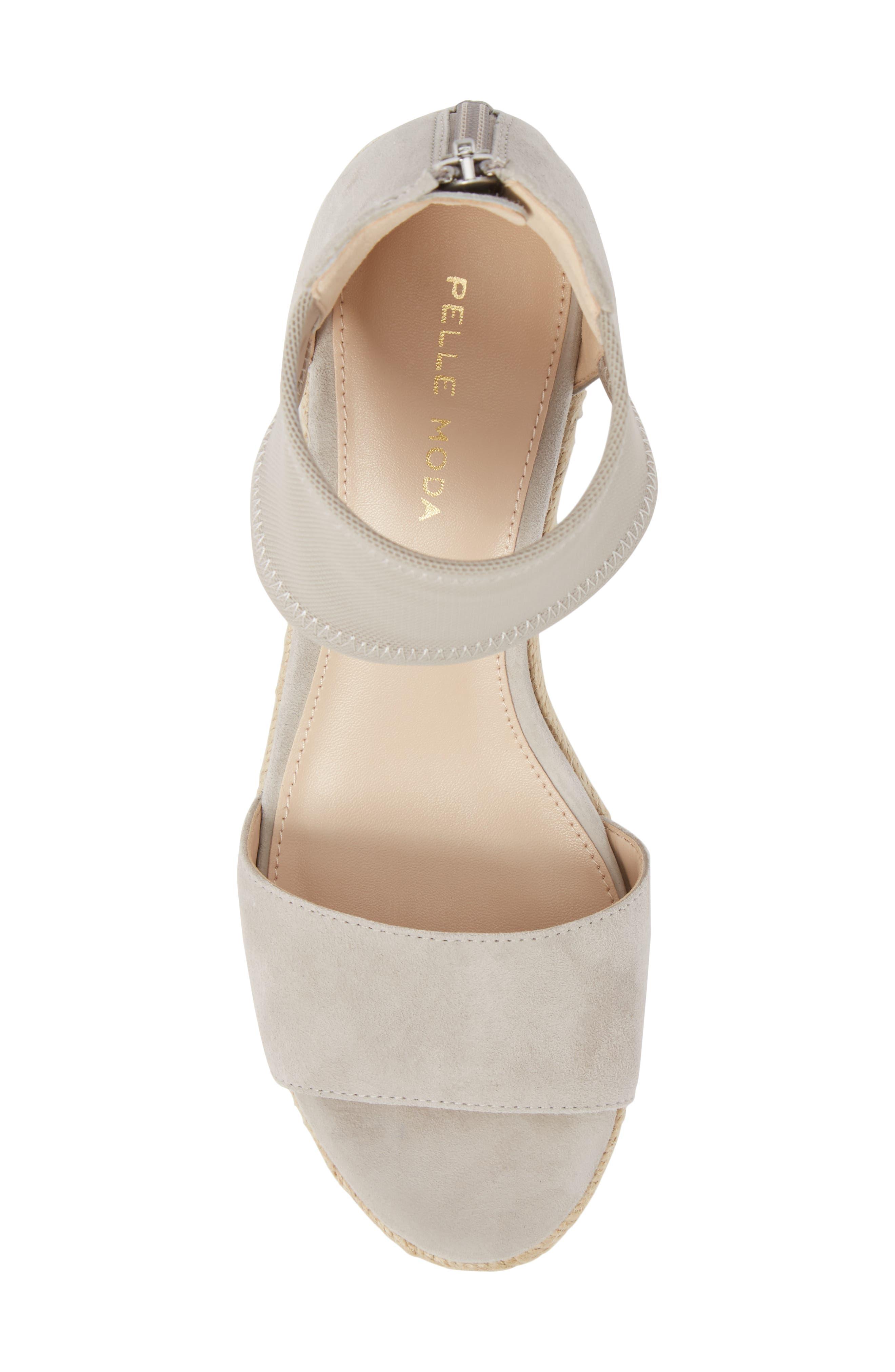 Alternate Image 5  - Pelle Moda Kona Platform Wedge Sandal (Women)