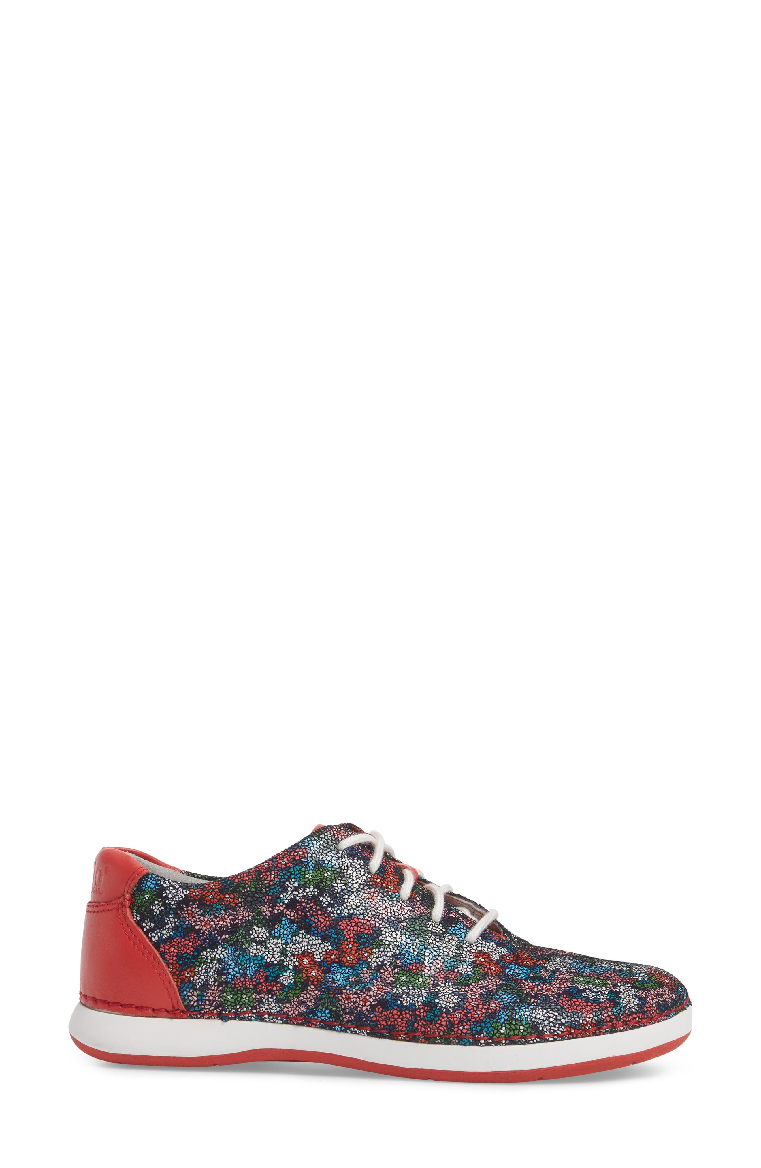 Essence Lace-Up Leather Oxford,                             Alternate thumbnail 3, color,                             Botanncool Leather