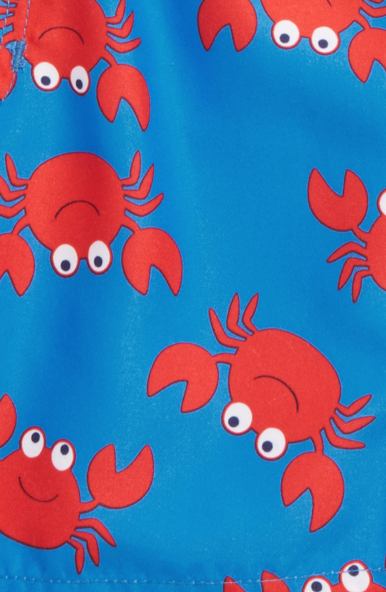 Crab UPF 50+ Swim Trunks,                             Alternate thumbnail 2, color,                             Blue