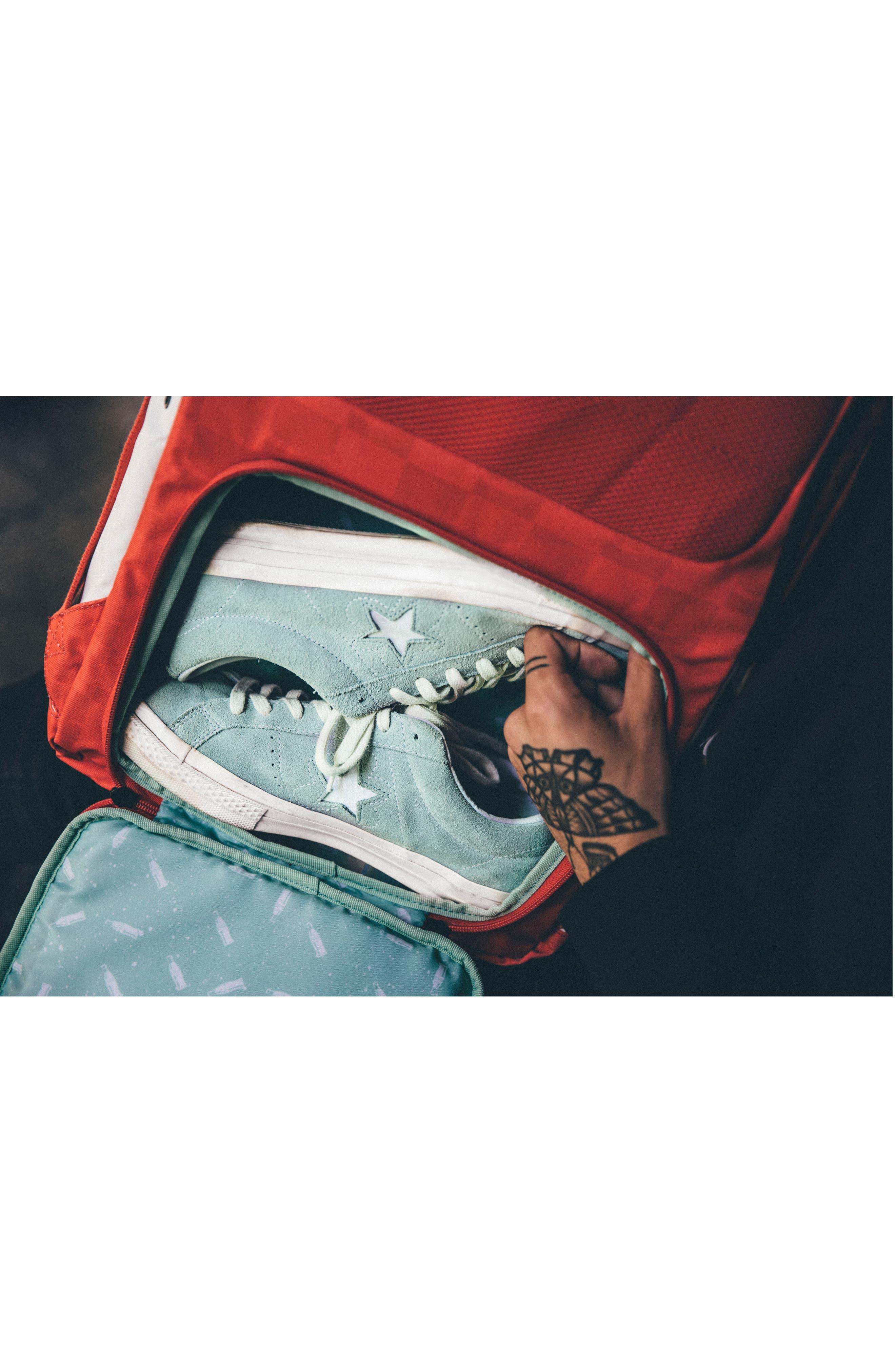 Alternate Image 6  - HEX Coca Cola Sneaker Backpack