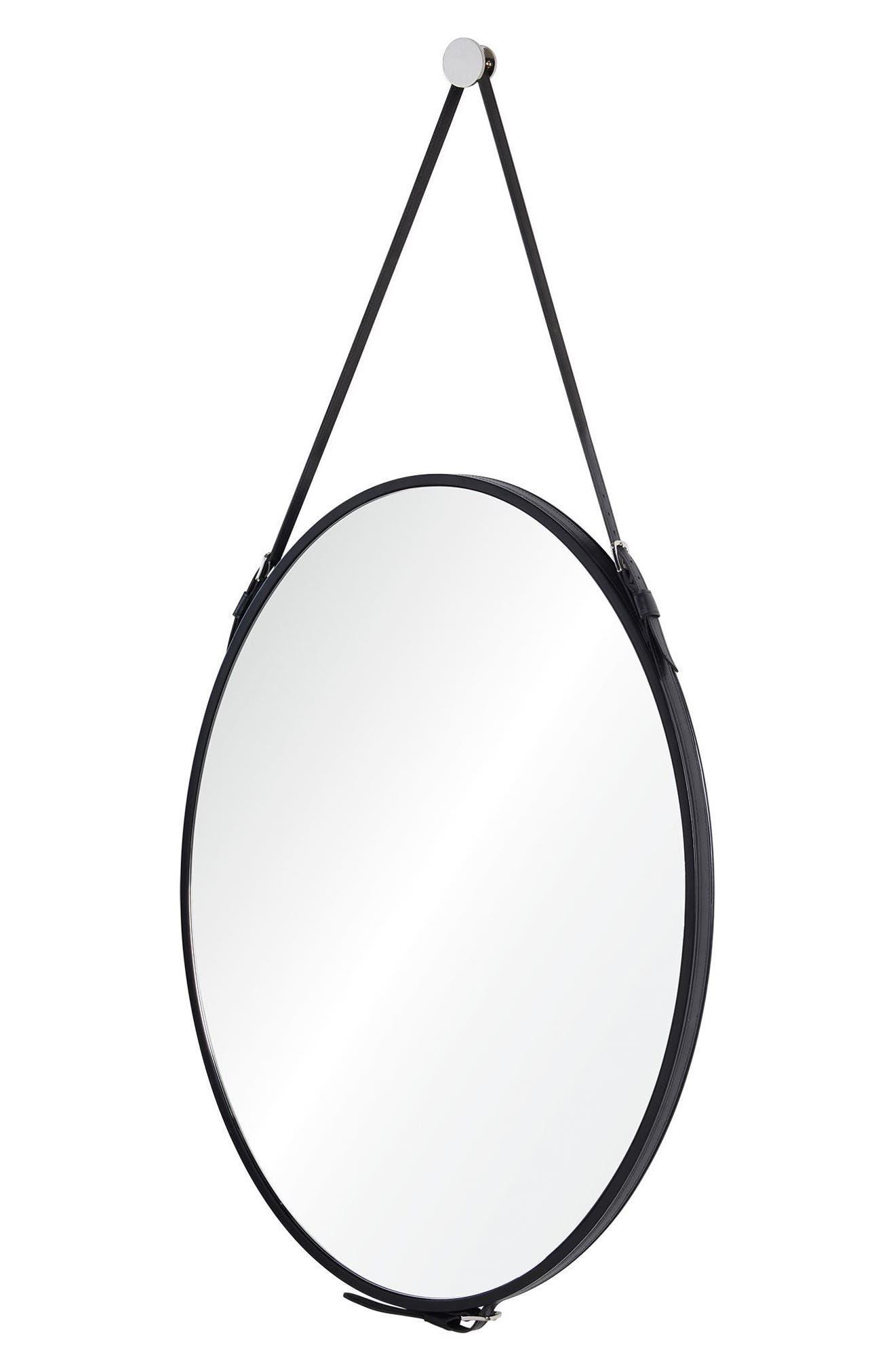 Cordova Mirror,                             Alternate thumbnail 4, color,                             Black