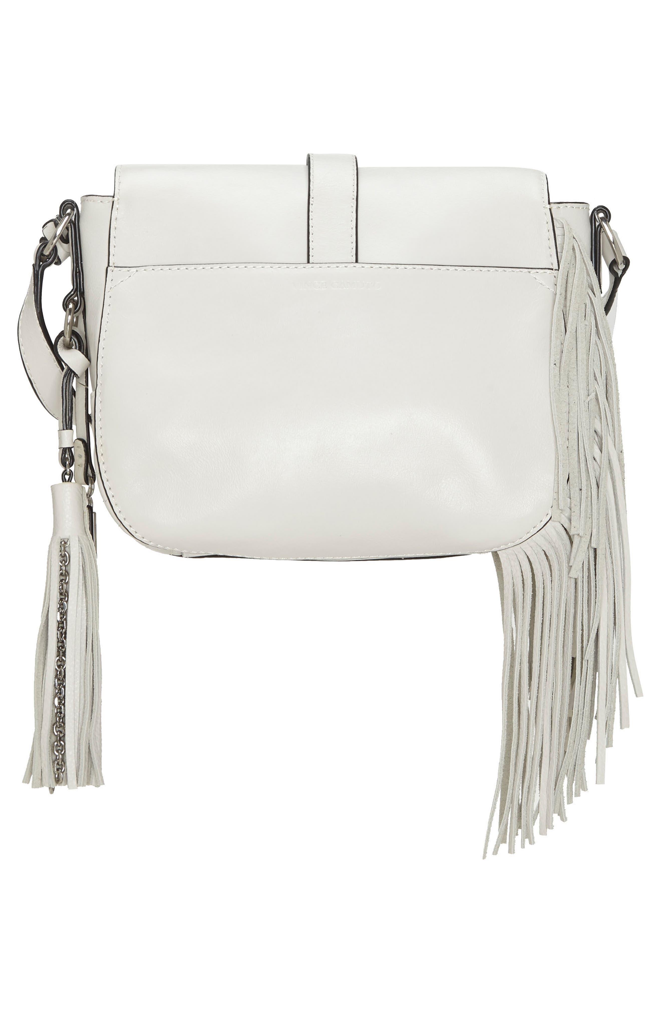 Hil Leather Crossbody Bag,                             Alternate thumbnail 2, color,                             Vaporous Grey