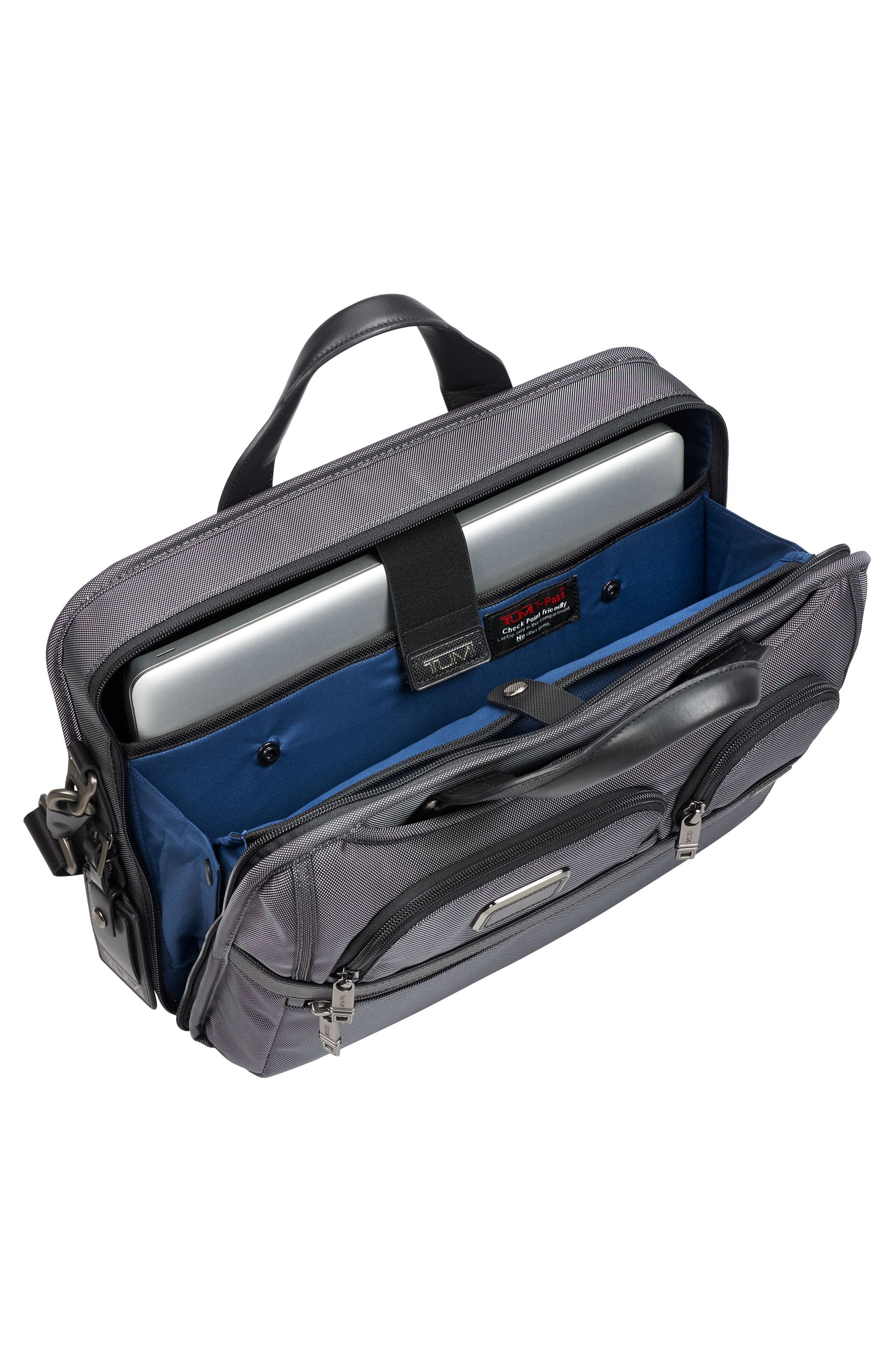 Alpha 2 - T-Pass<sup>™</sup> Briefcase,                             Alternate thumbnail 3, color,                             Pewter