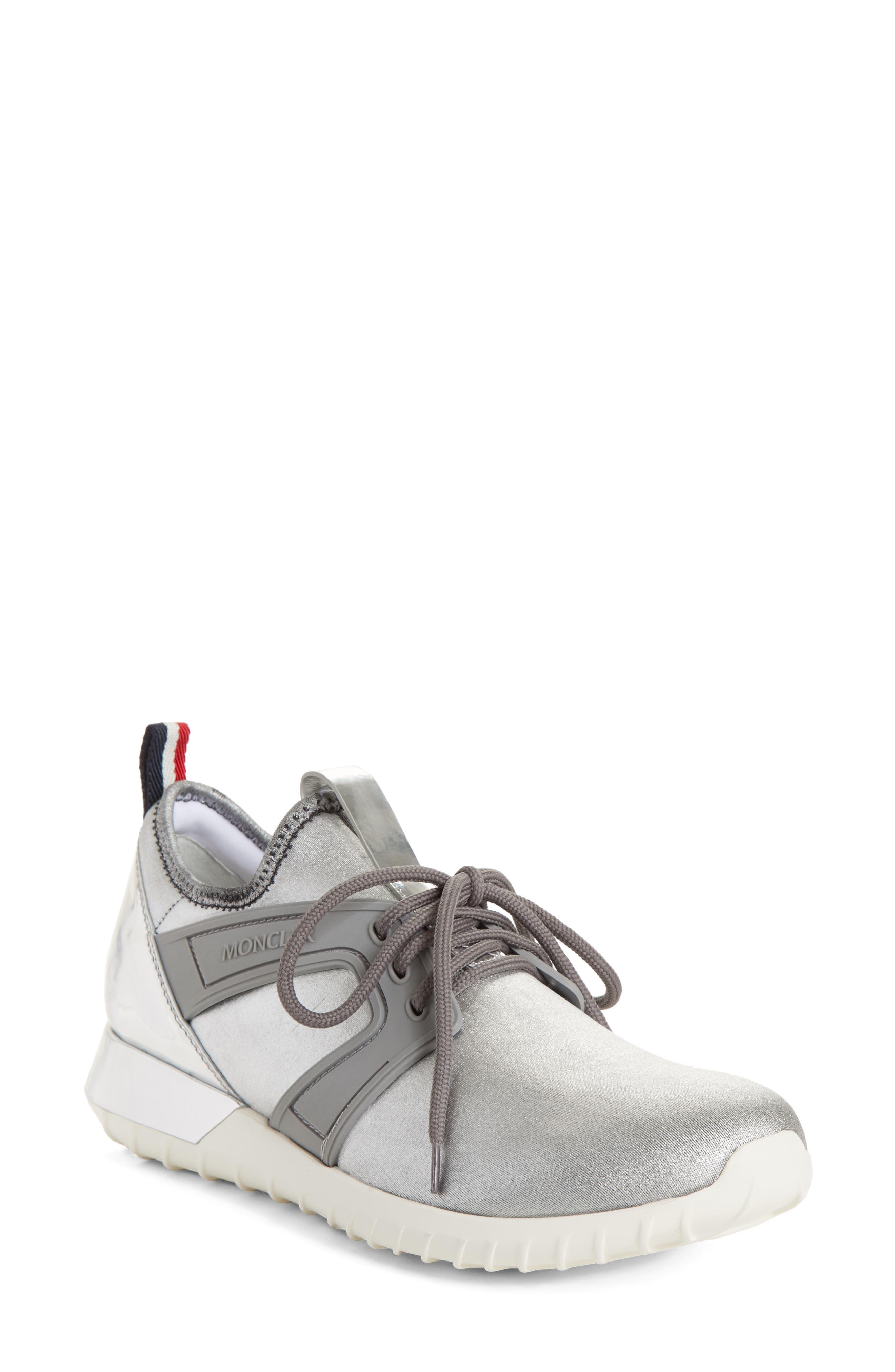 Meline Runner Sneaker,                             Main thumbnail 1, color,                             Silver