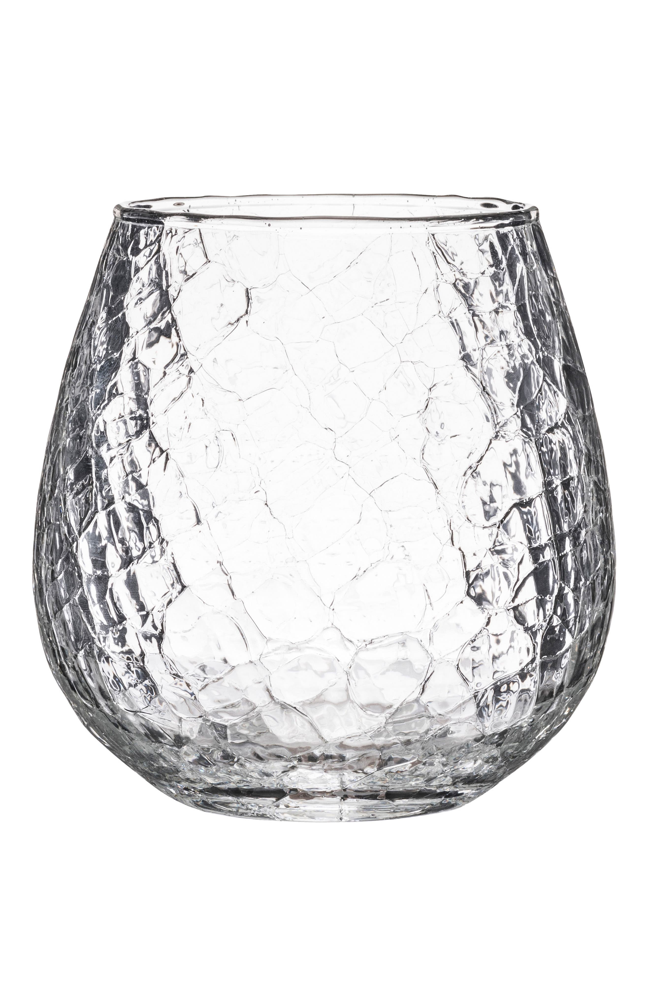 Hugo Stemless Red Wine Glass,                         Main,                         color, Clear