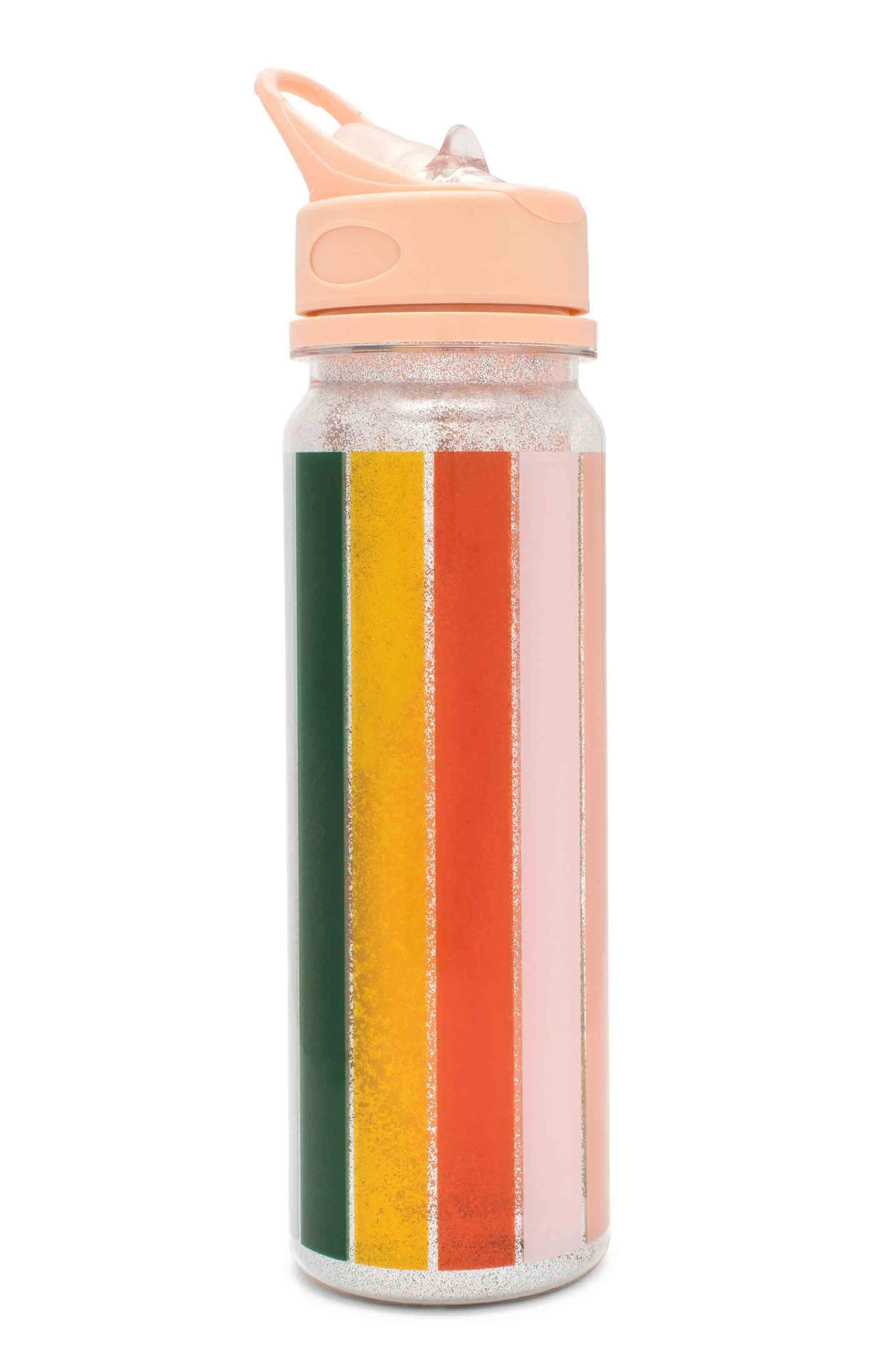 ban.do Color Wheel Glitter Water Bottle
