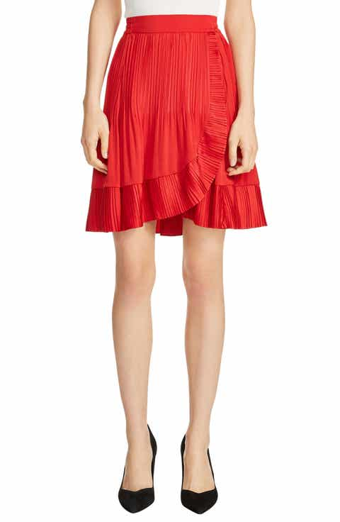 maje Jonetta A-Line Skirt