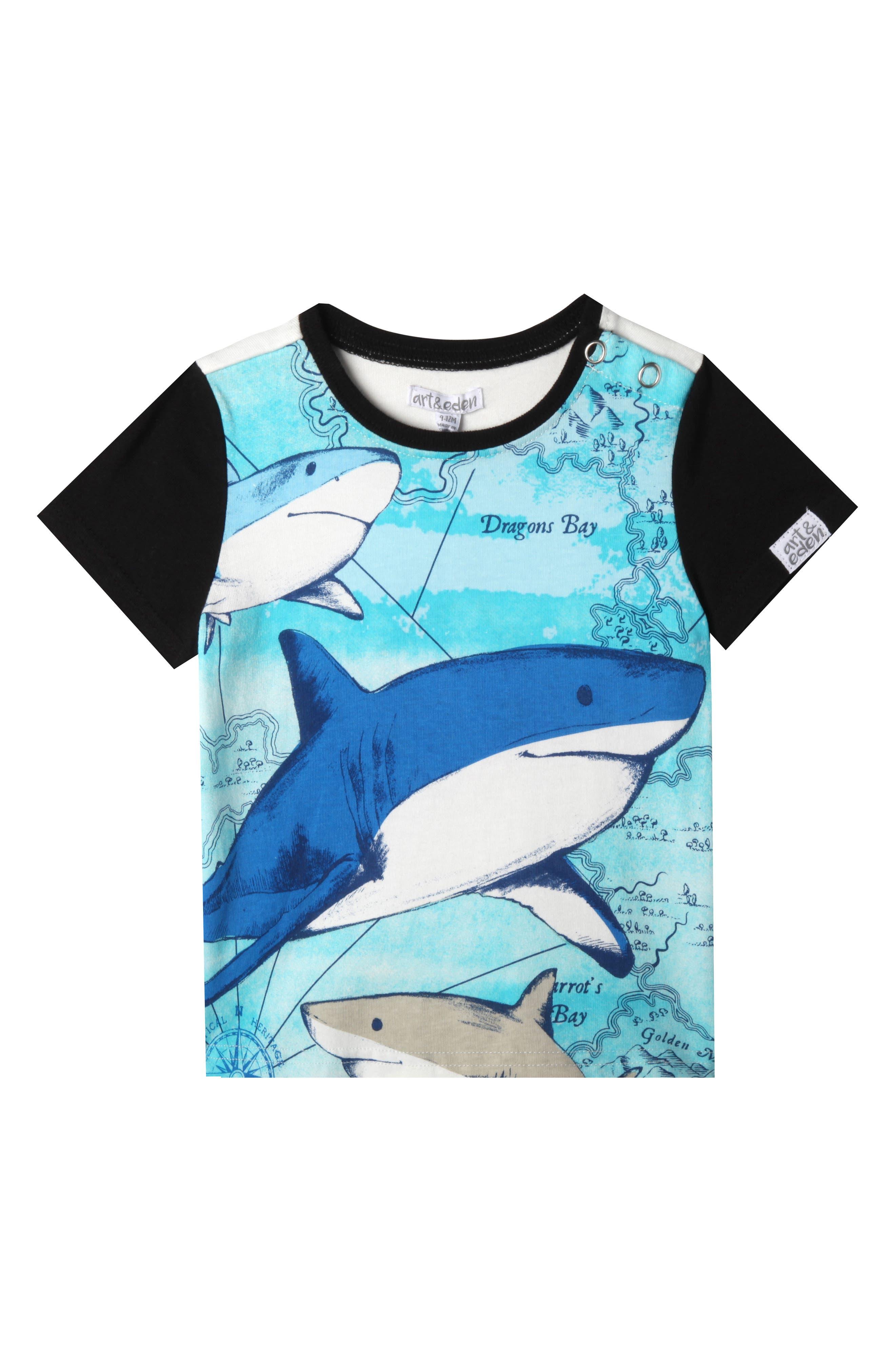 Wyatt T-Shirt,                         Main,                         color, Black