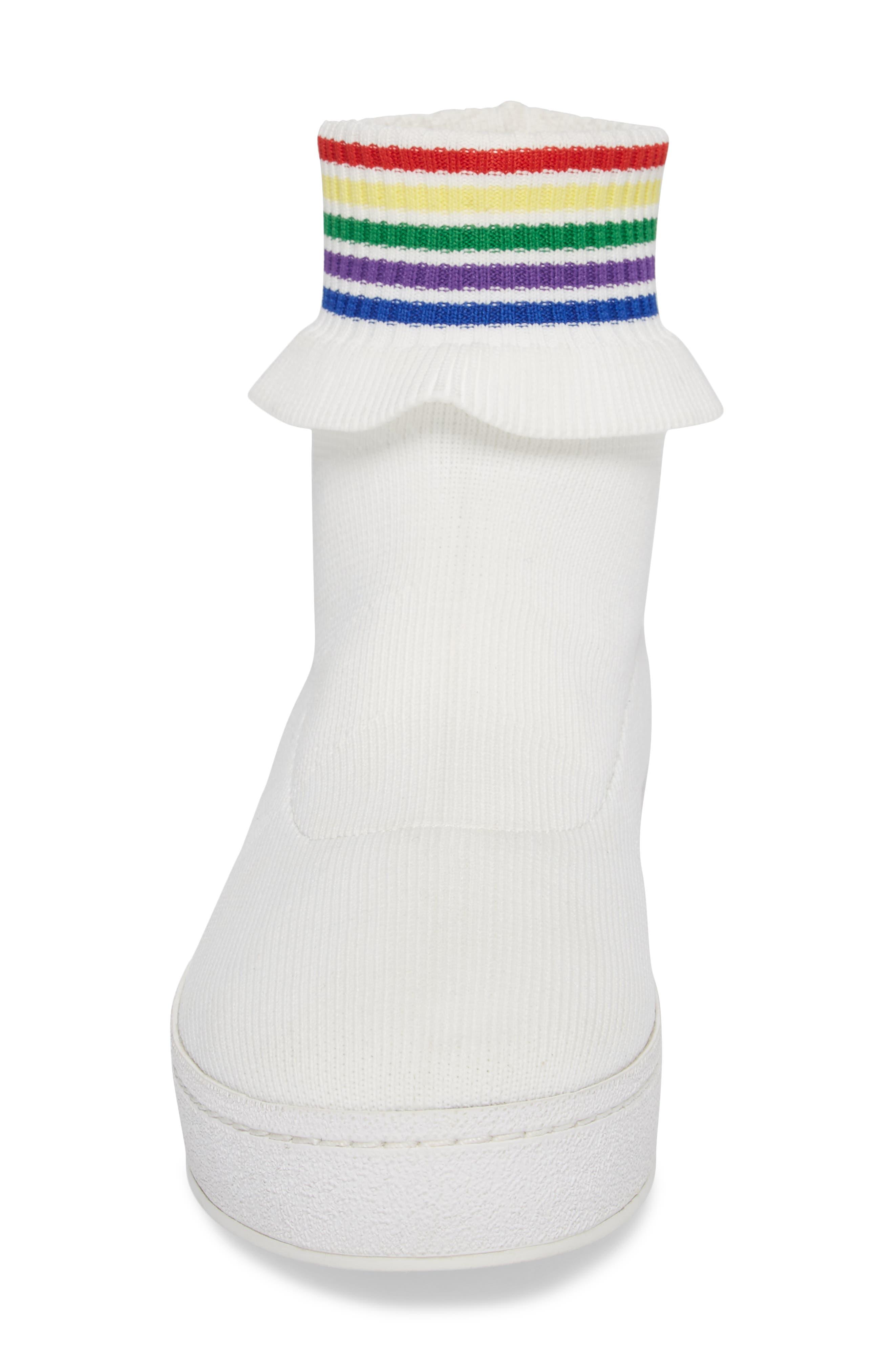 Alternate Image 4  - Opening Ceremony Bobby Sock Knit Sneaker (Women)