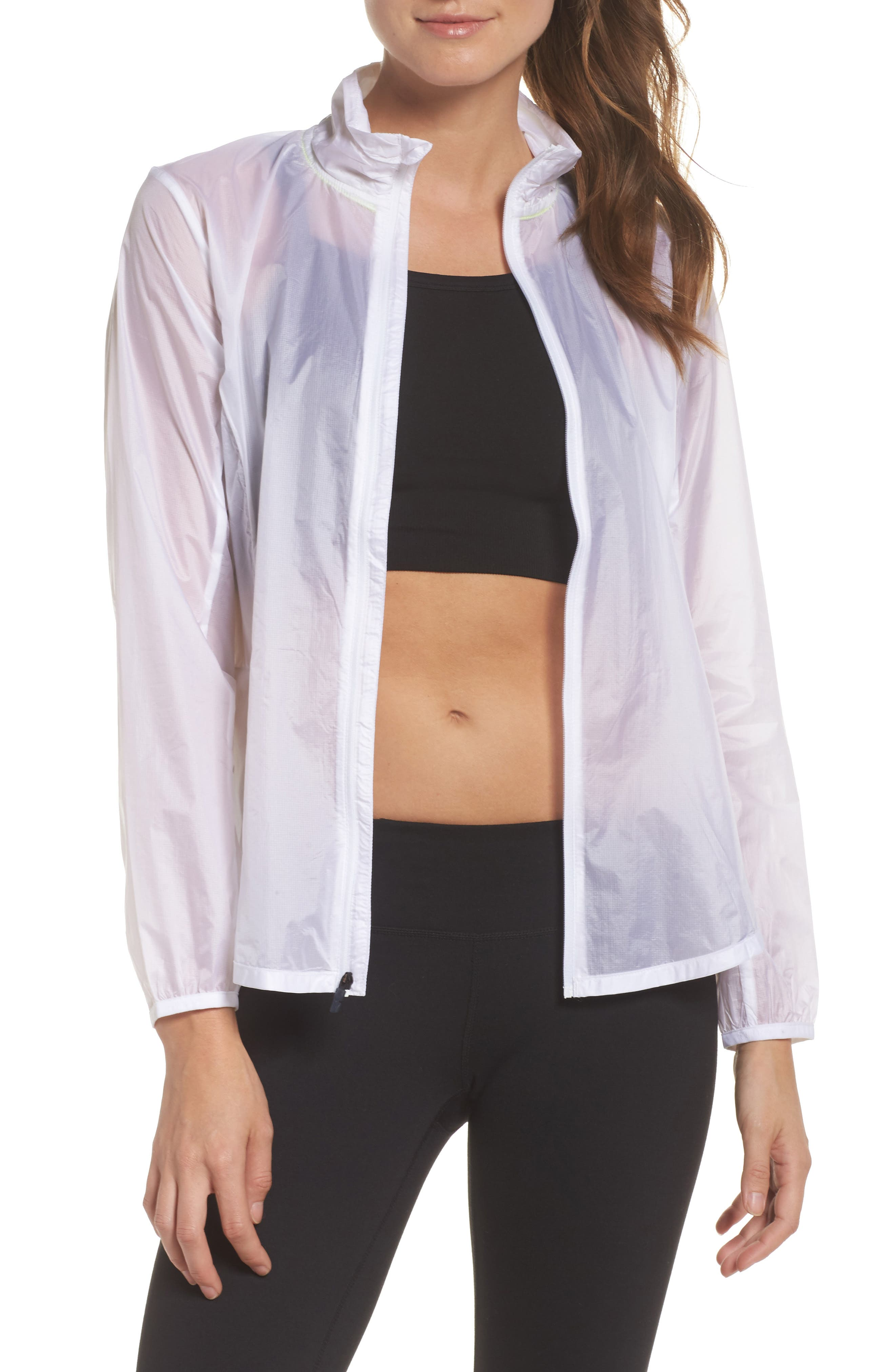 Water Resistant Ripstop Jacket,                             Main thumbnail 1, color,                             White