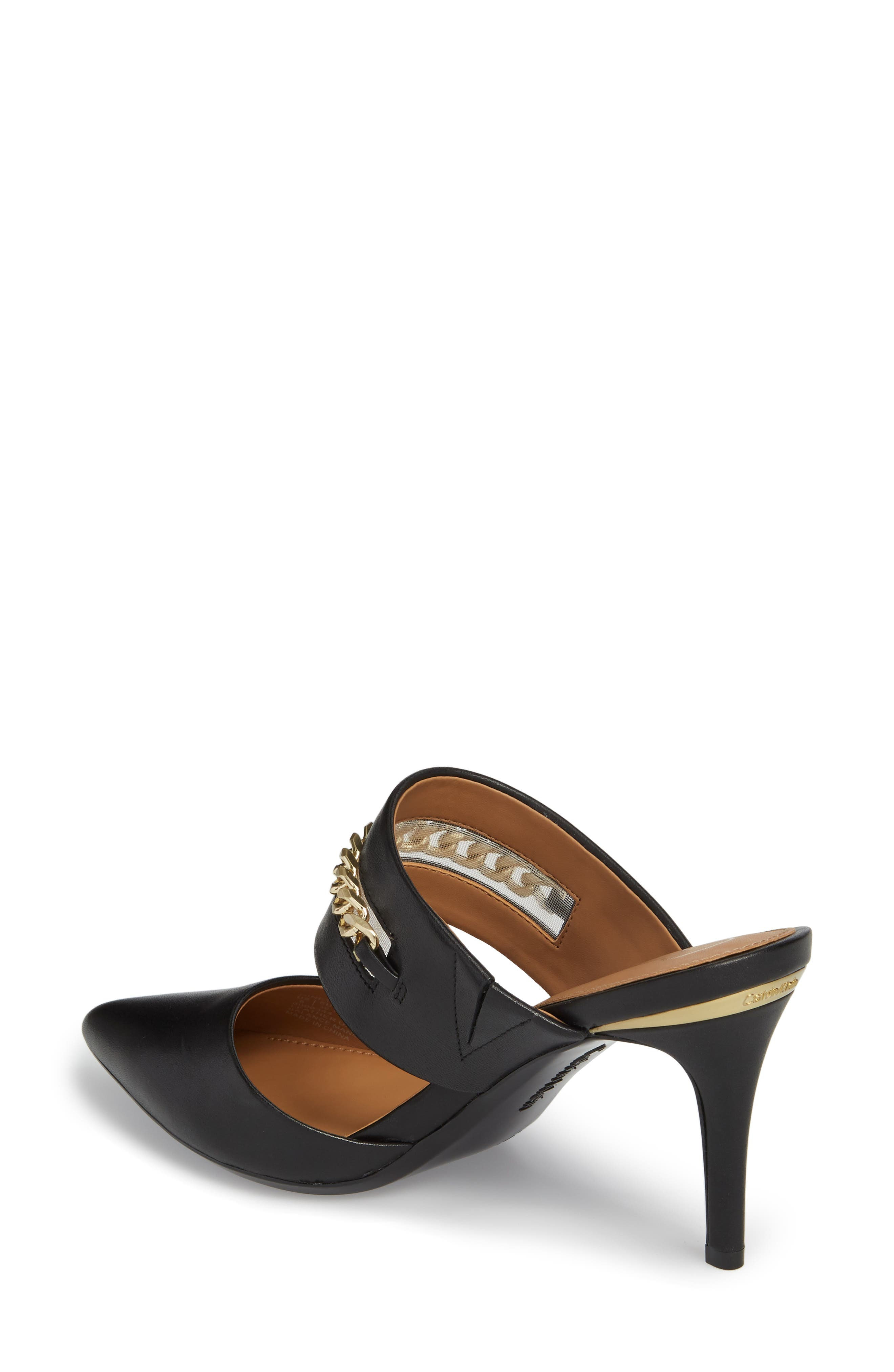 Alternate Image 2  - Calvin Klein Ginette Embellished Pointy Toe Mule (Women)